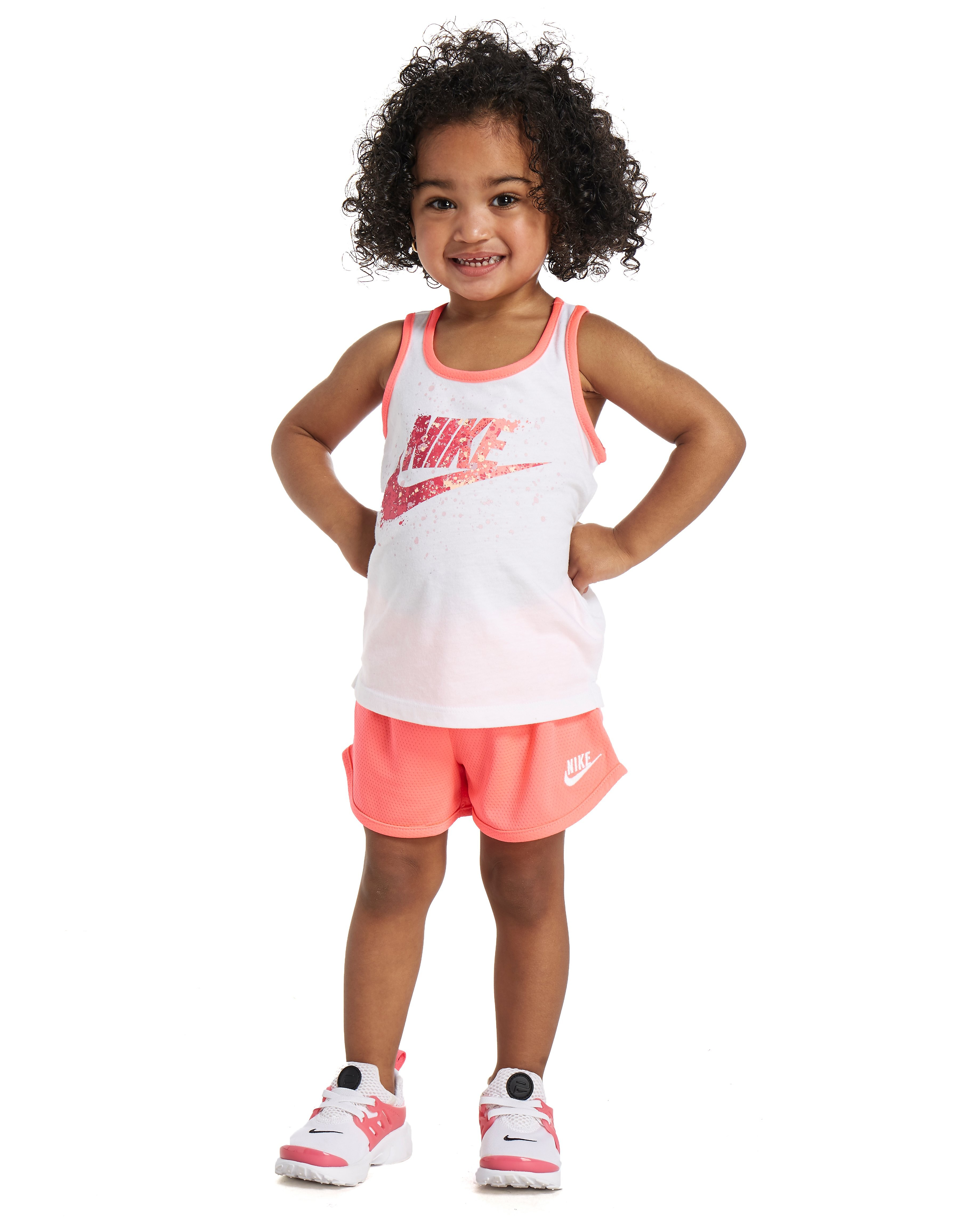 Nike Futura Tank and Short Set Girls