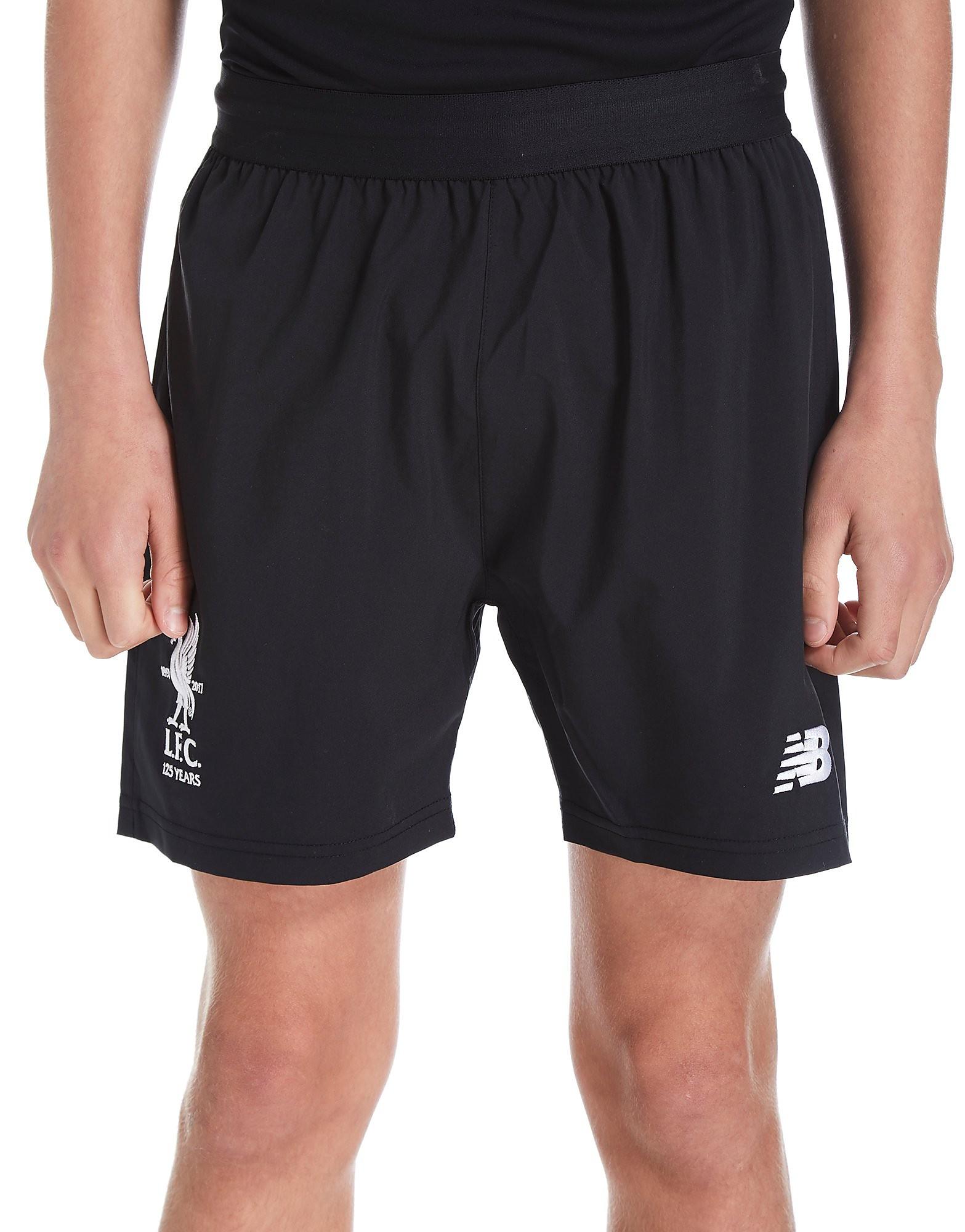 New Balance Liverpool FC 2017/18 Away Shorts Junior
