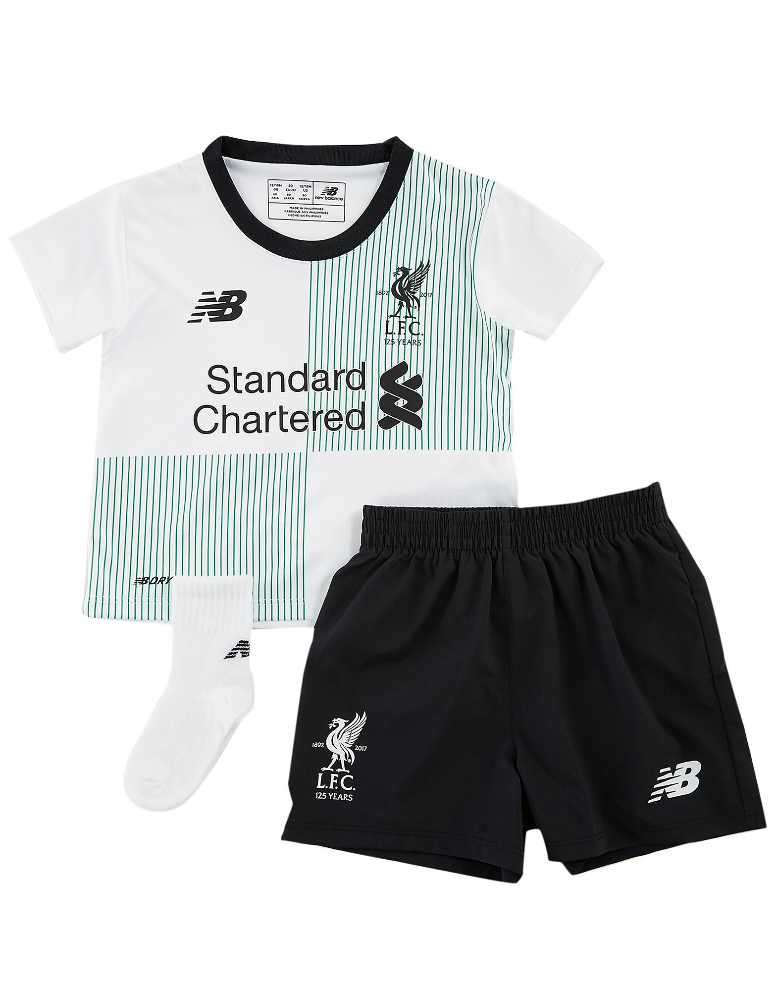 New Balance  Liverpool FC 2017/18 Away Kit Junior