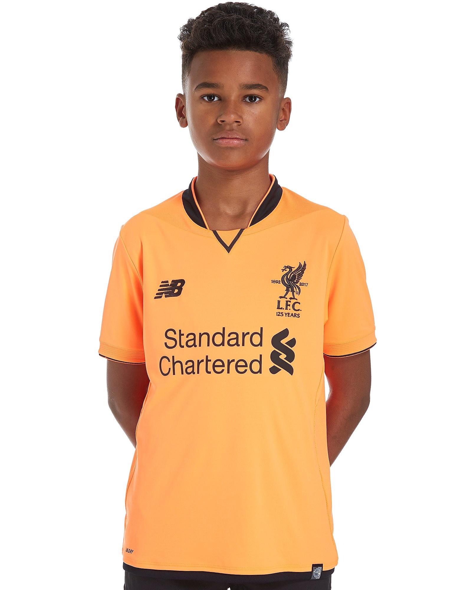 New Balance Liverpool FC 2017/18 Third Shirt Junior