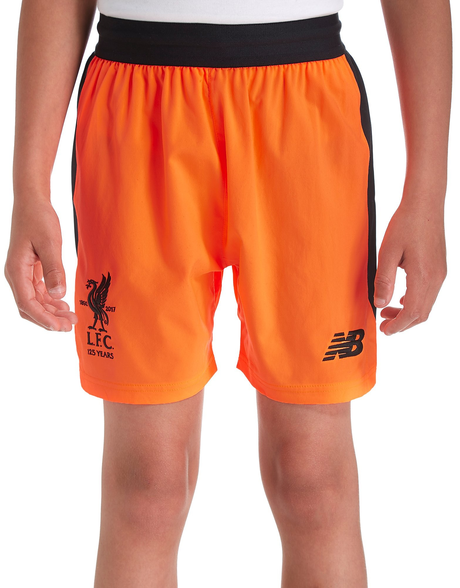 New Balance Liverpool FC 2017/18 Third Shorts Junior