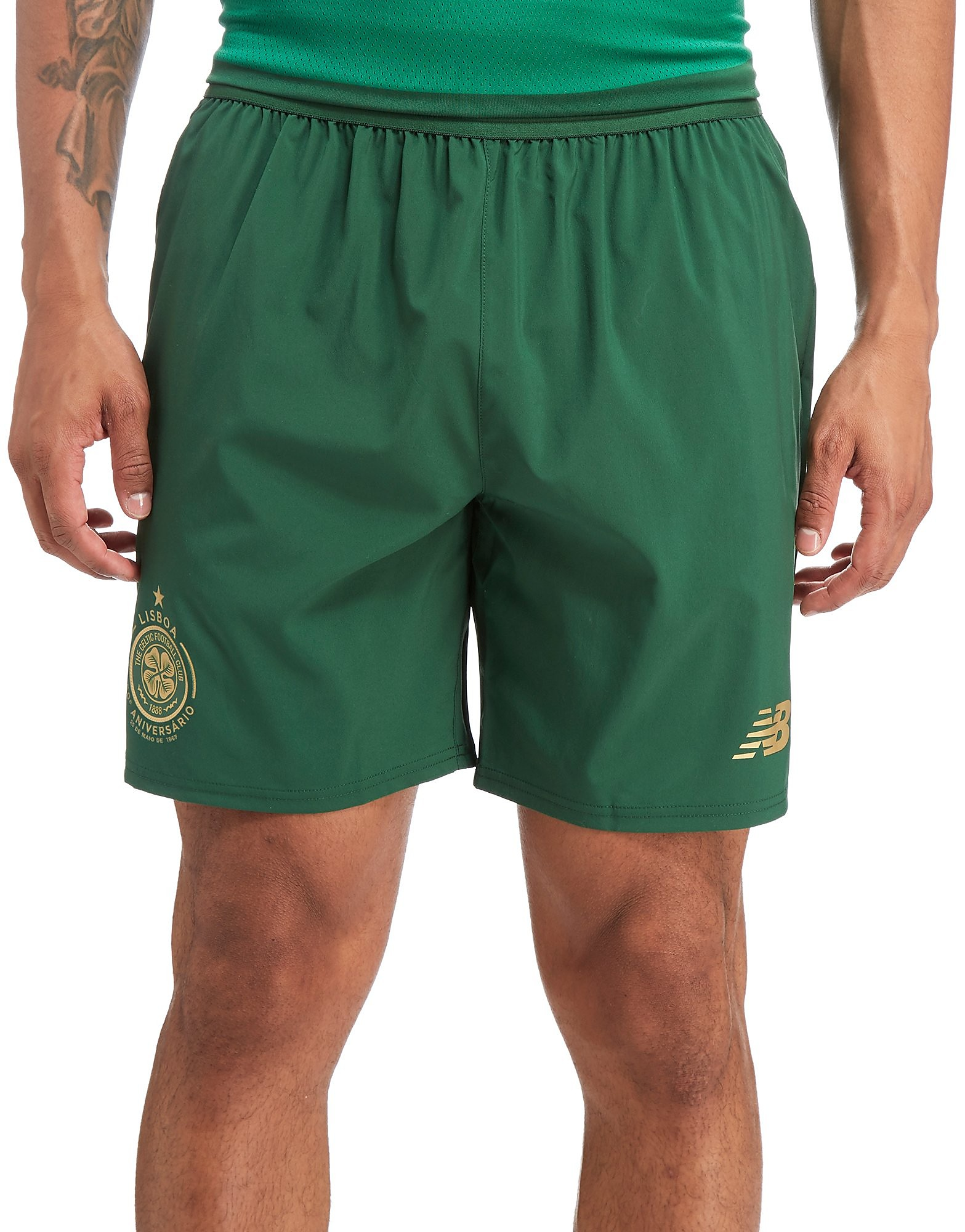 New Balance Celtic FC 2017/18 Away Shorts PRE ORDER