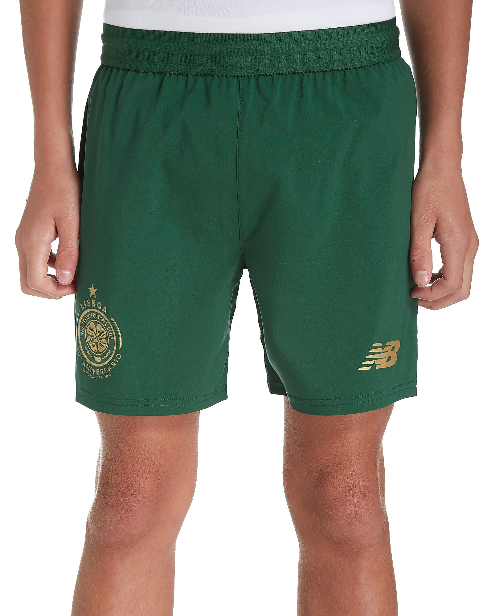 New Balance Celtic FC 2017/18 Away Shorts Junior PRE ORDER
