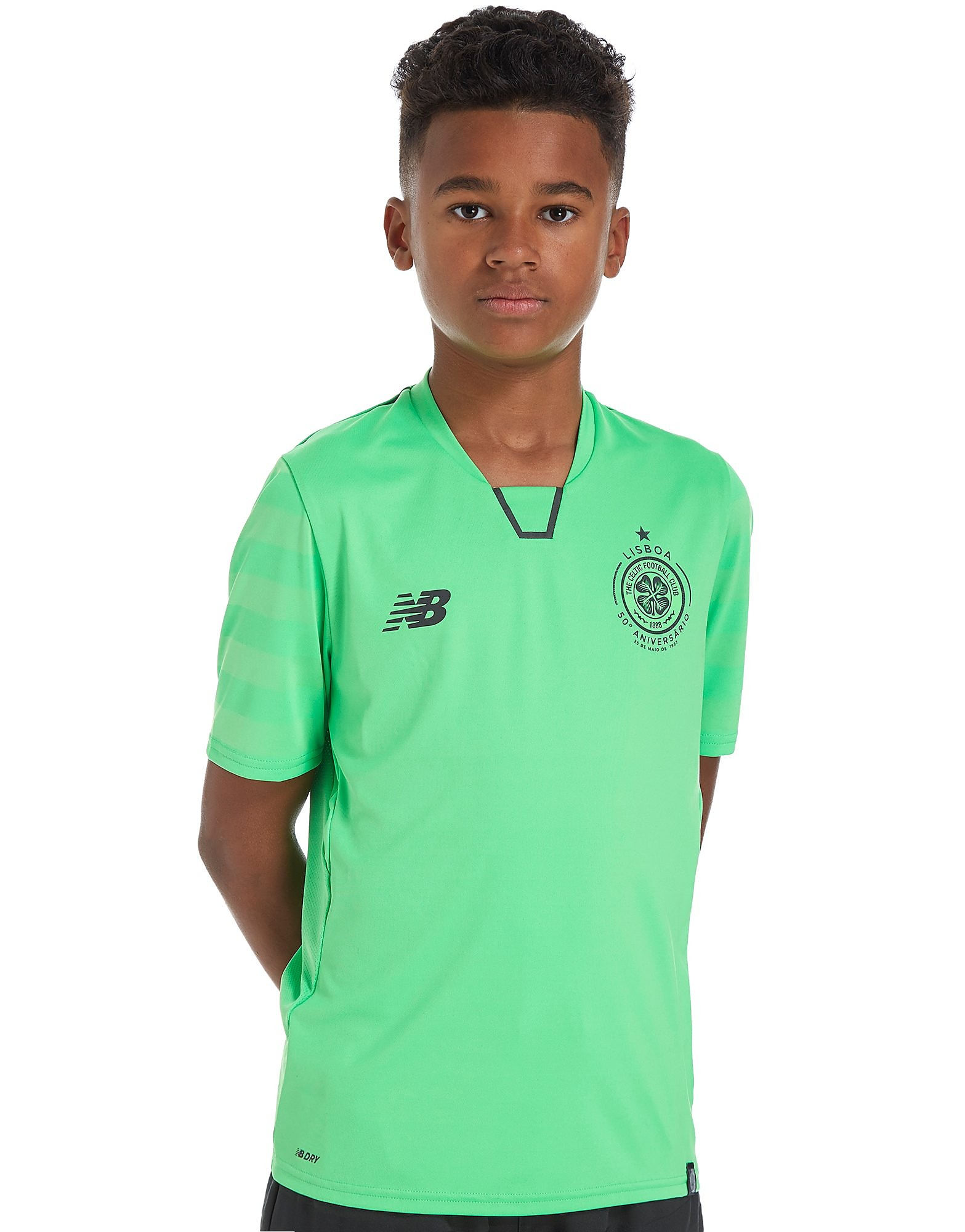 New Balance Celtic 2017/18 Third Shirt Junior