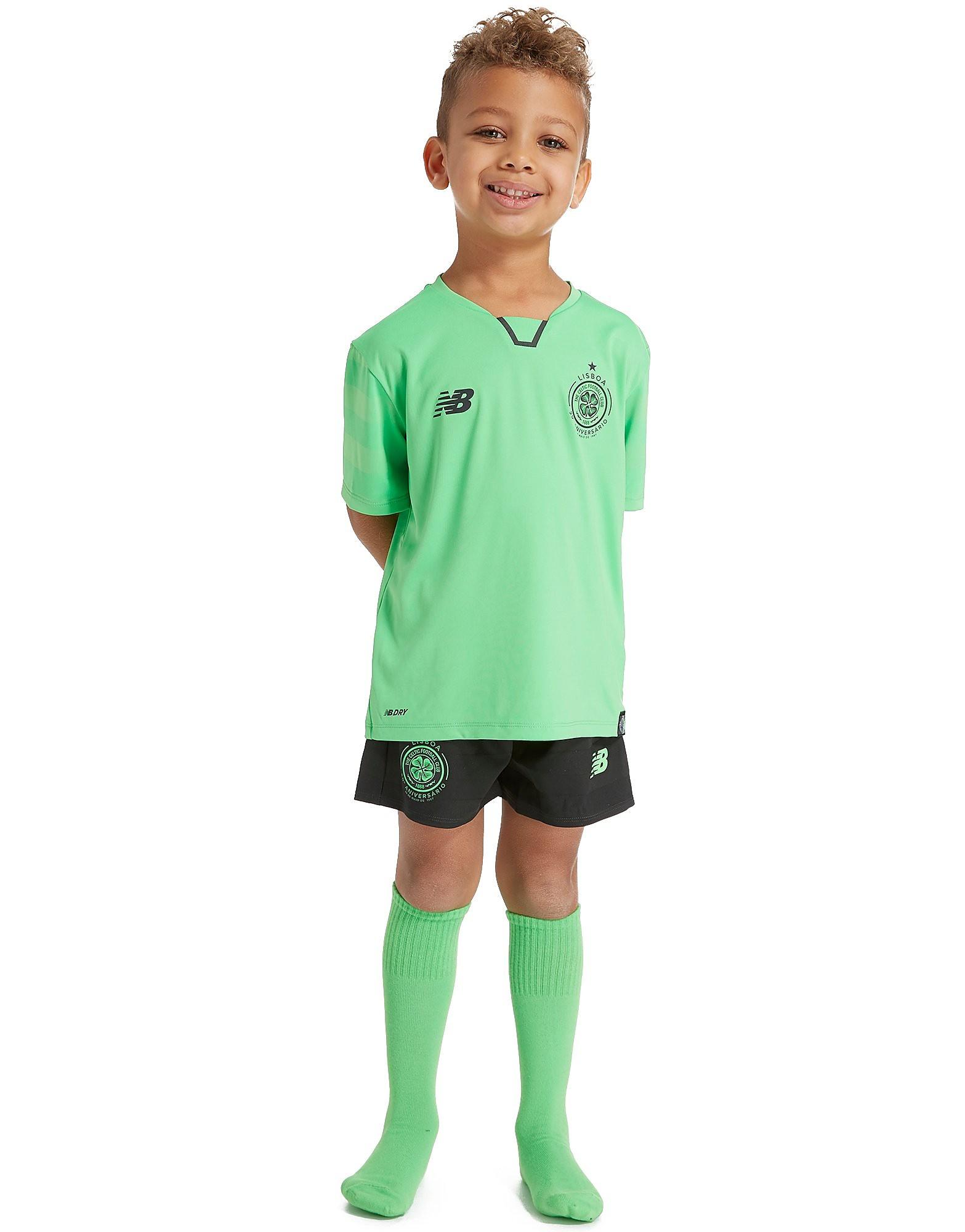New Balance conjunto Celtic 2017/18 3.ª equipación infantil