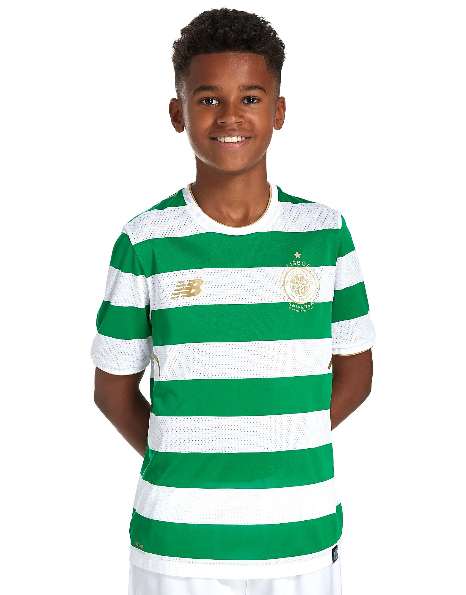 New Balance Celtic FC 2017/18 Home Shirt Junior