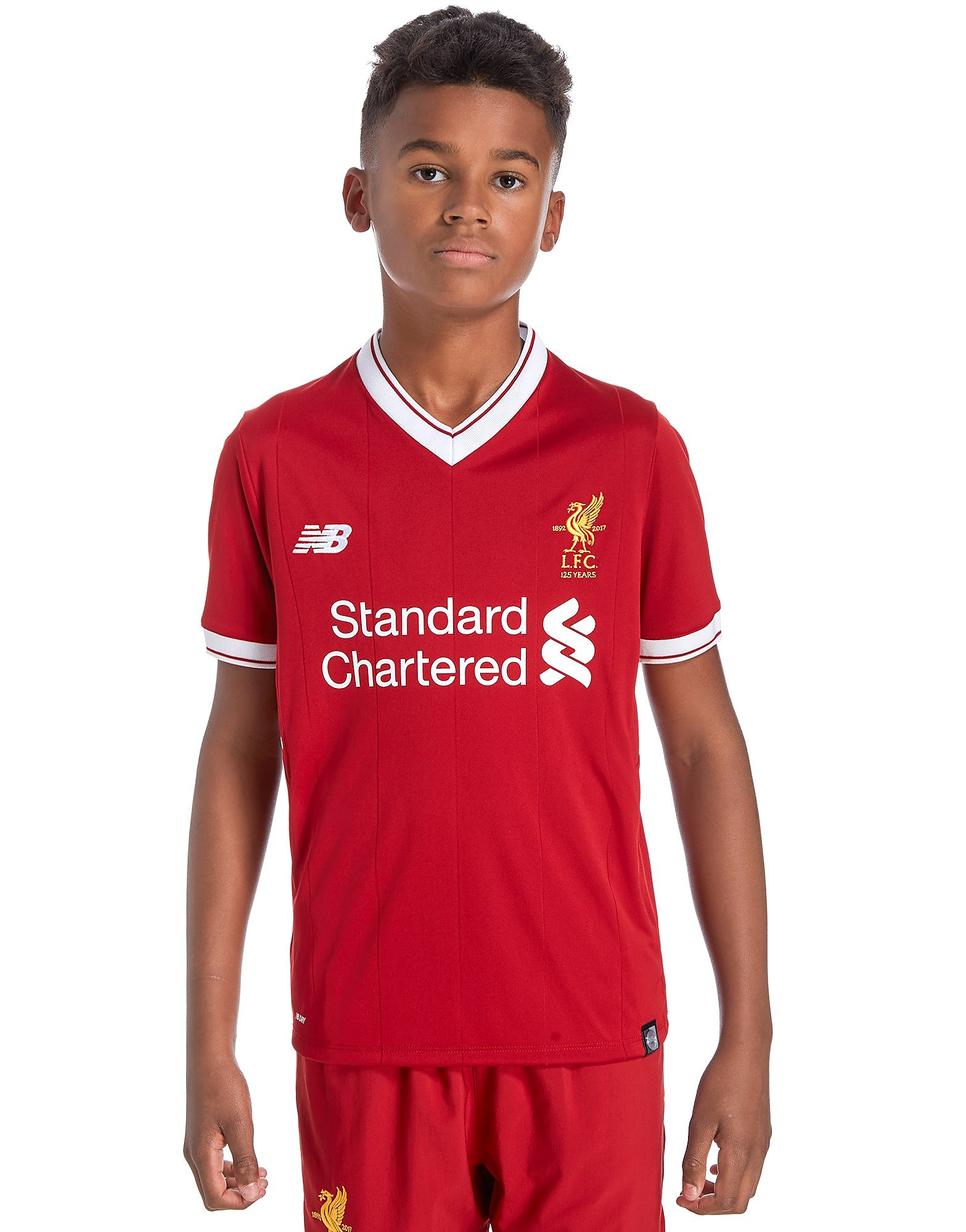 New Balance Liverpool FC 2017/18 Home Shirt Junior