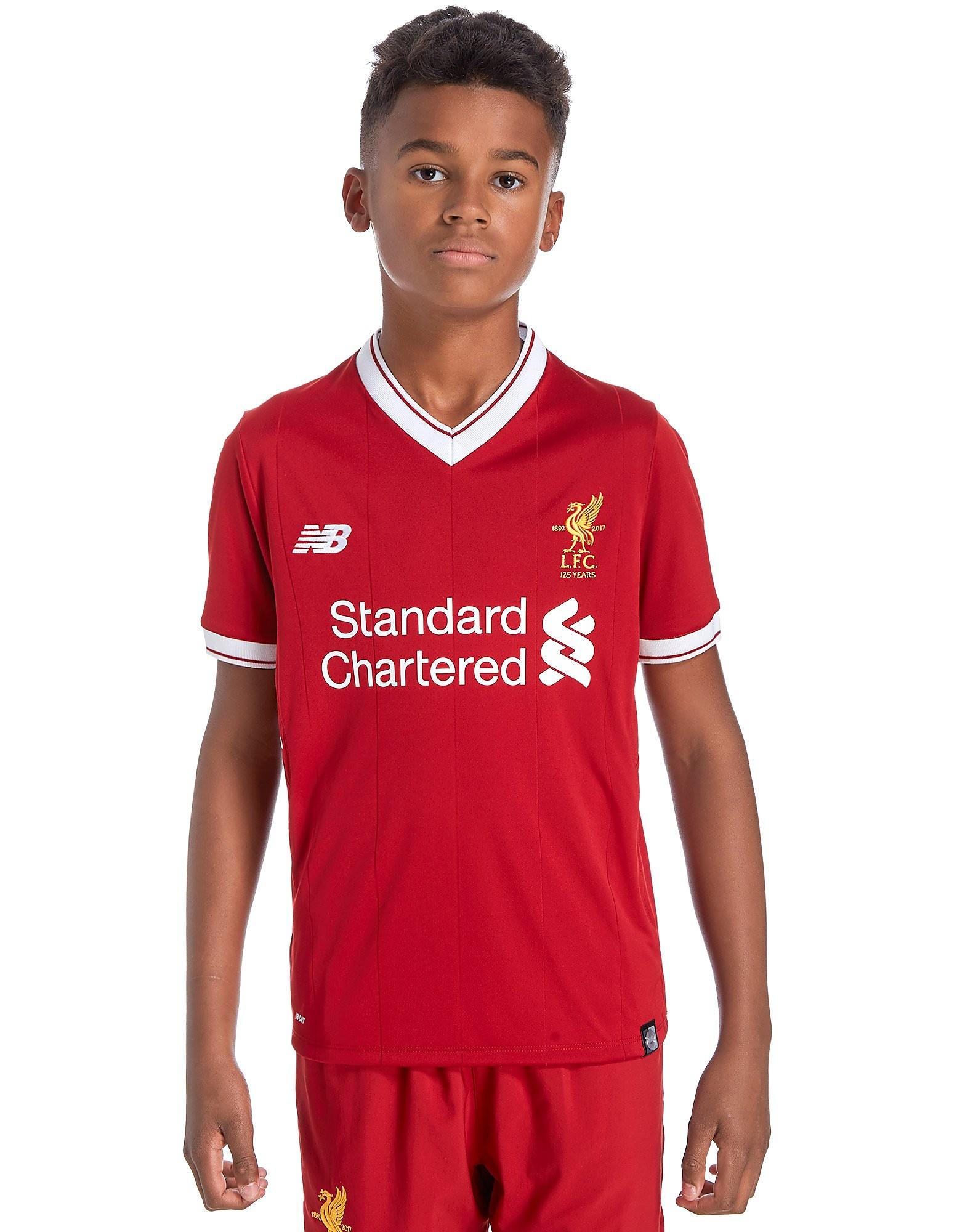 New Balance Liverpool FC 2017/18 Home Shirt Junior