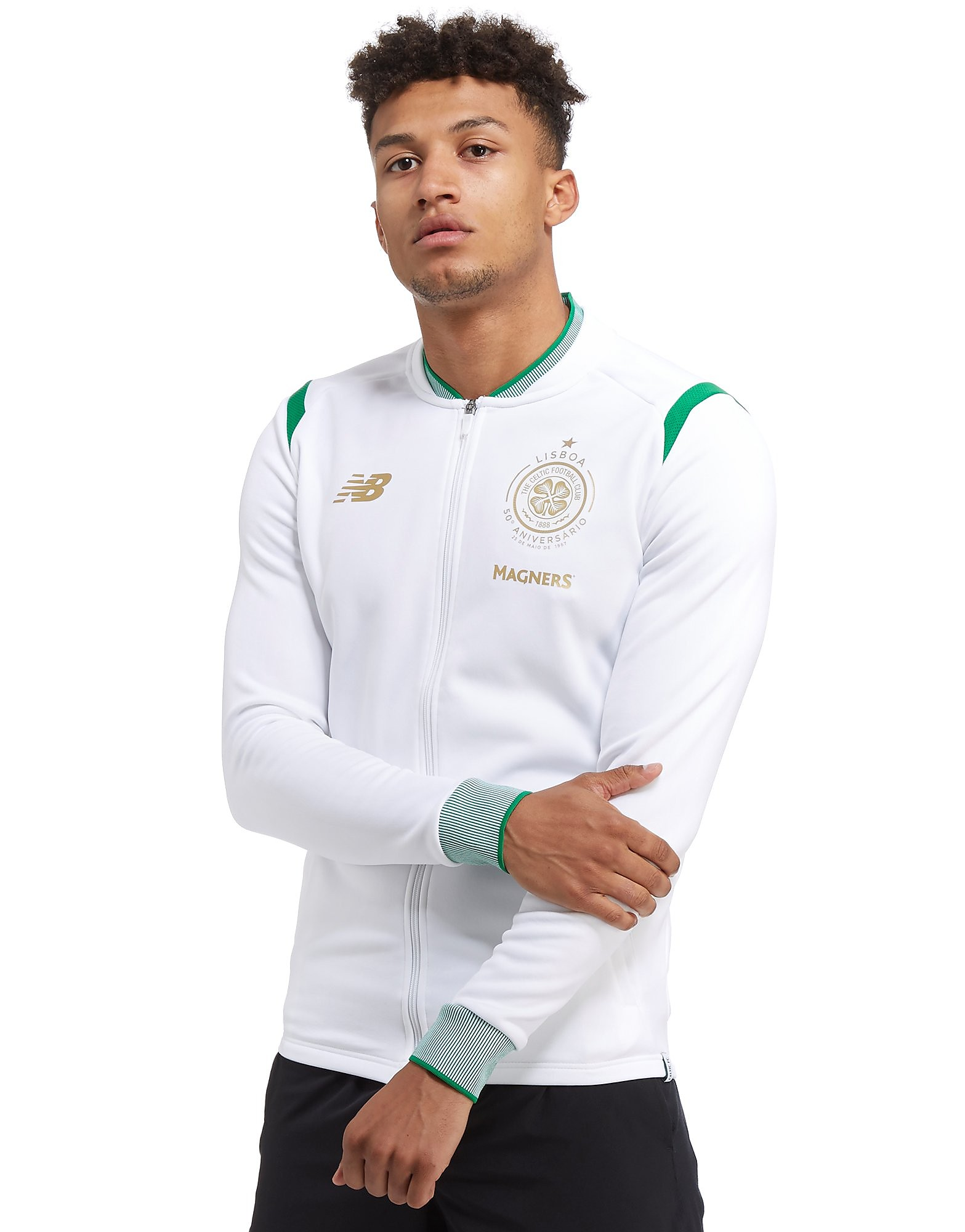 New Balance Veste Celtic FC Walk Out Homme