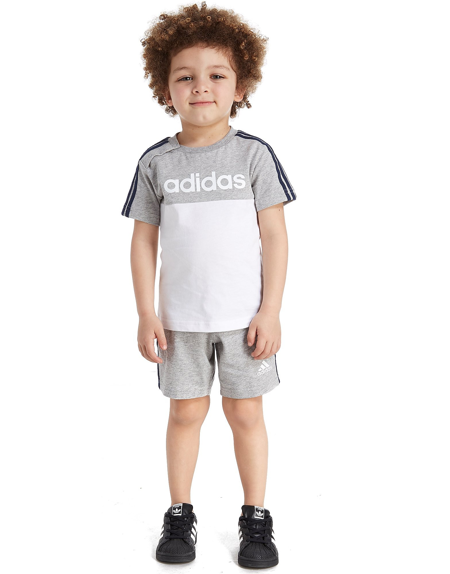 adidas Linear T-Shirt/Shorts Sæt Infant