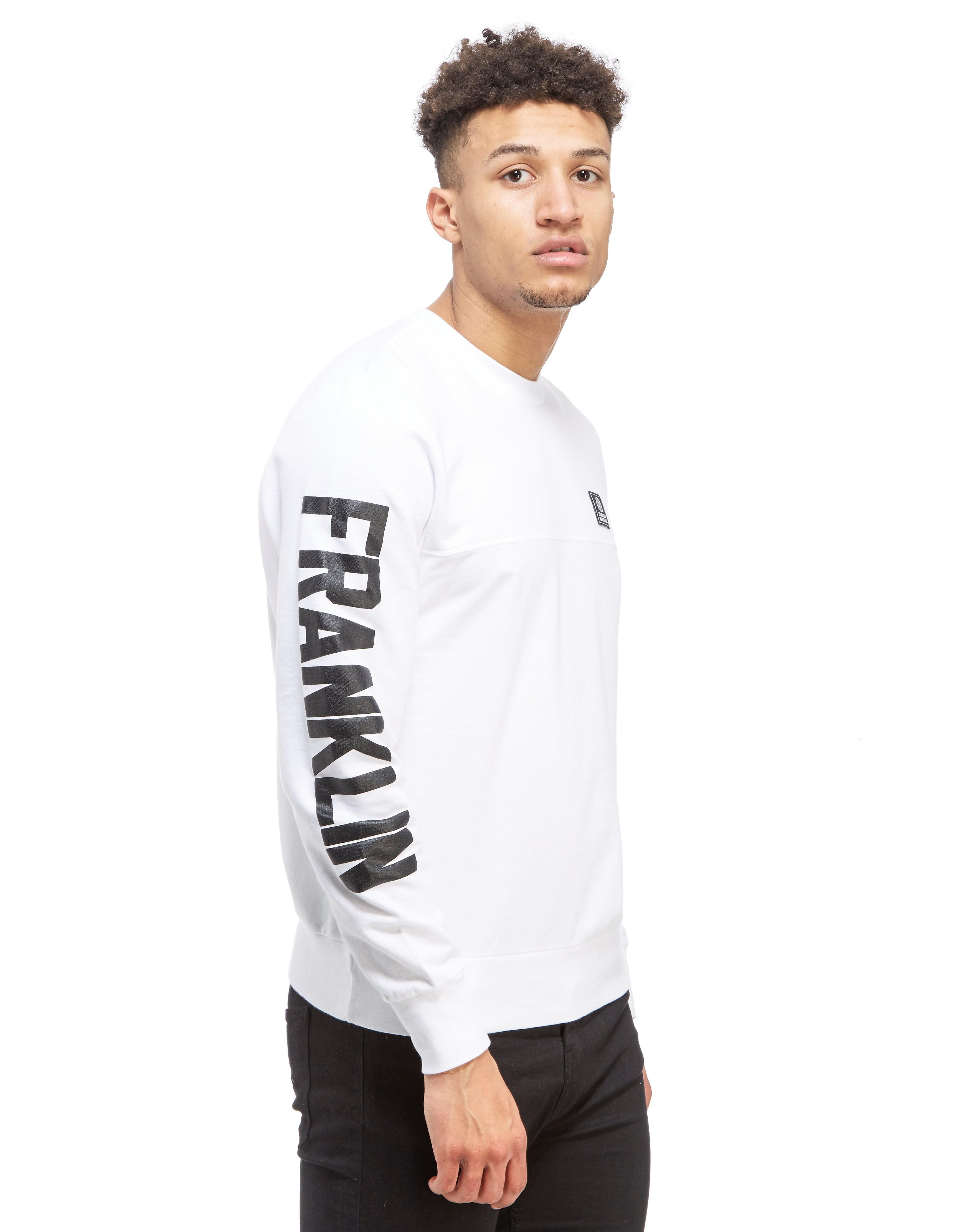 Franklin & Marshall Sleeve Logo Sweatshirt