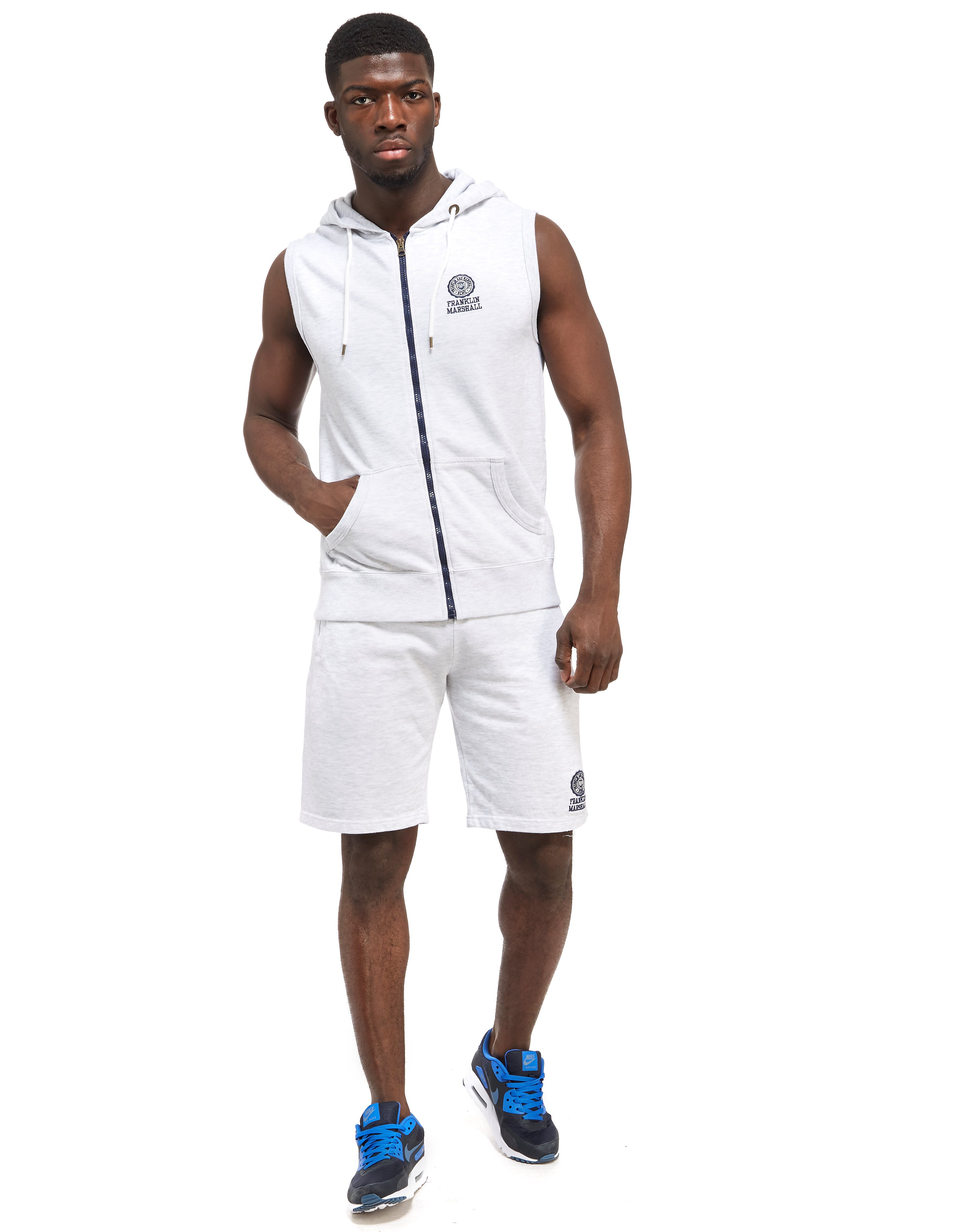 Franklin & Marshall Embroidered Hoody + Shorts Set