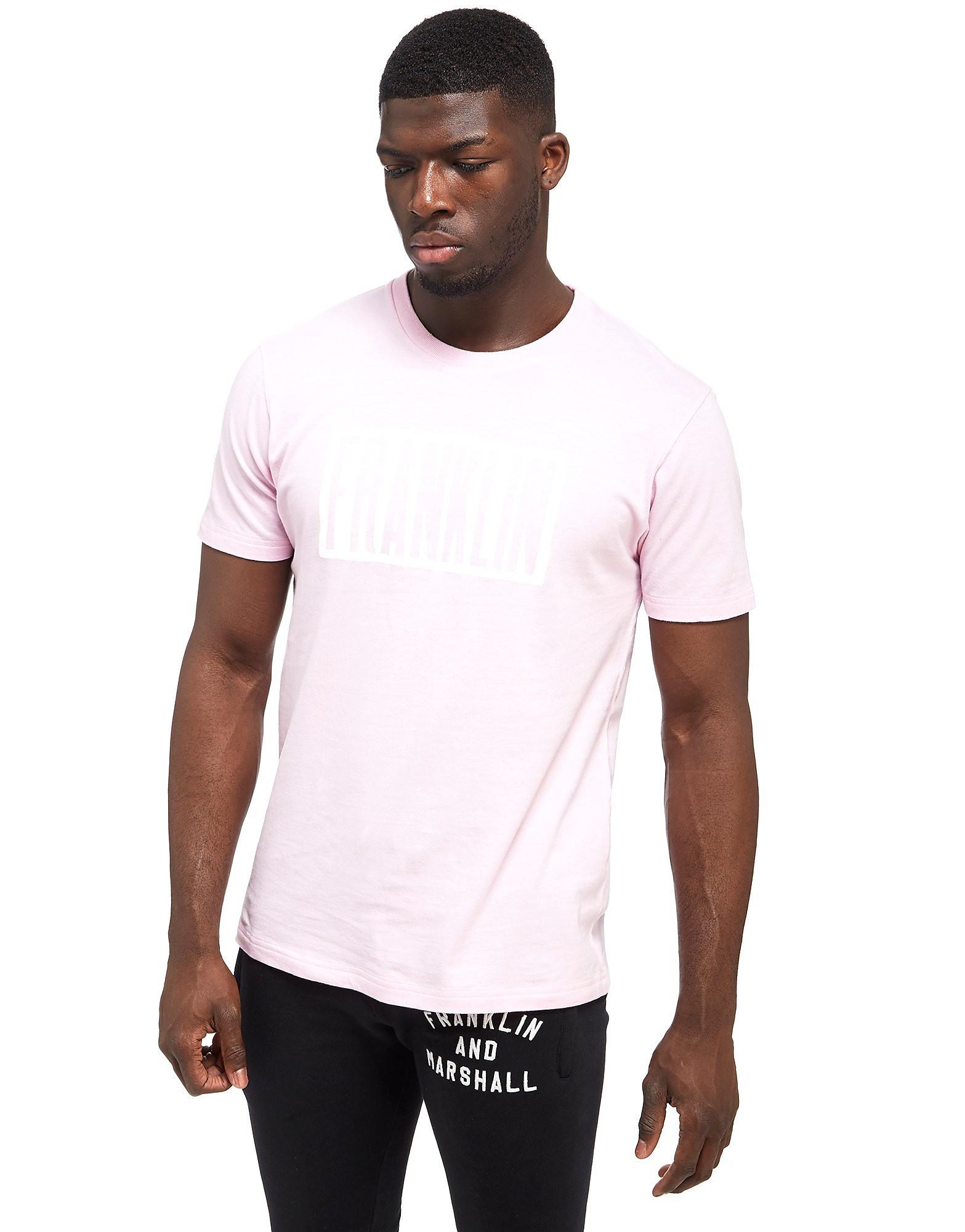 Franklin & Marshall Block Logo T-Shirt