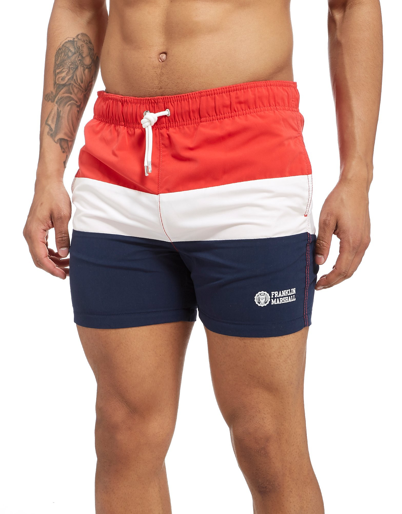 Franklin & Marshall Colour Block Swimshorts