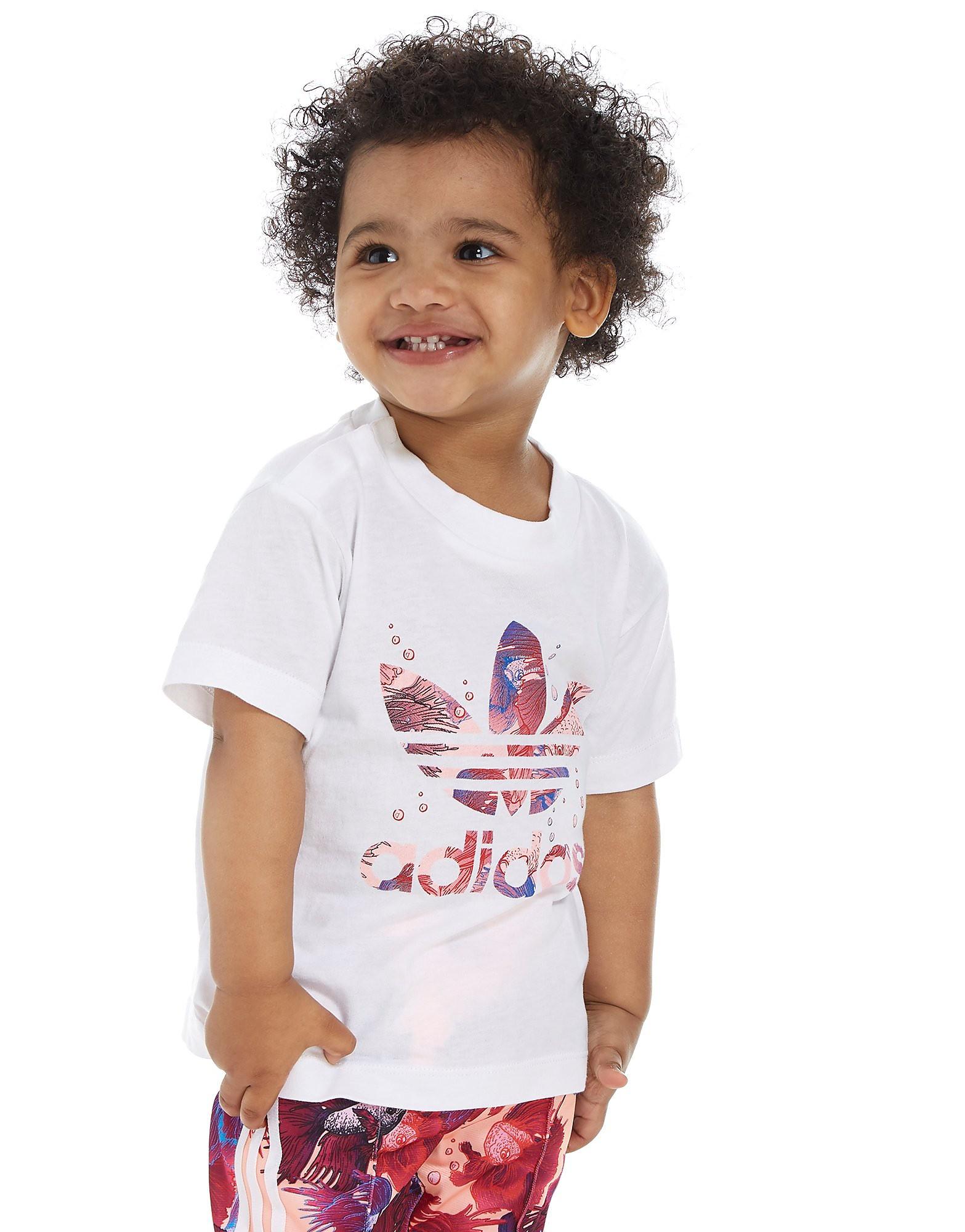 adidas Originals Girls' Farm T-Shirt Infant