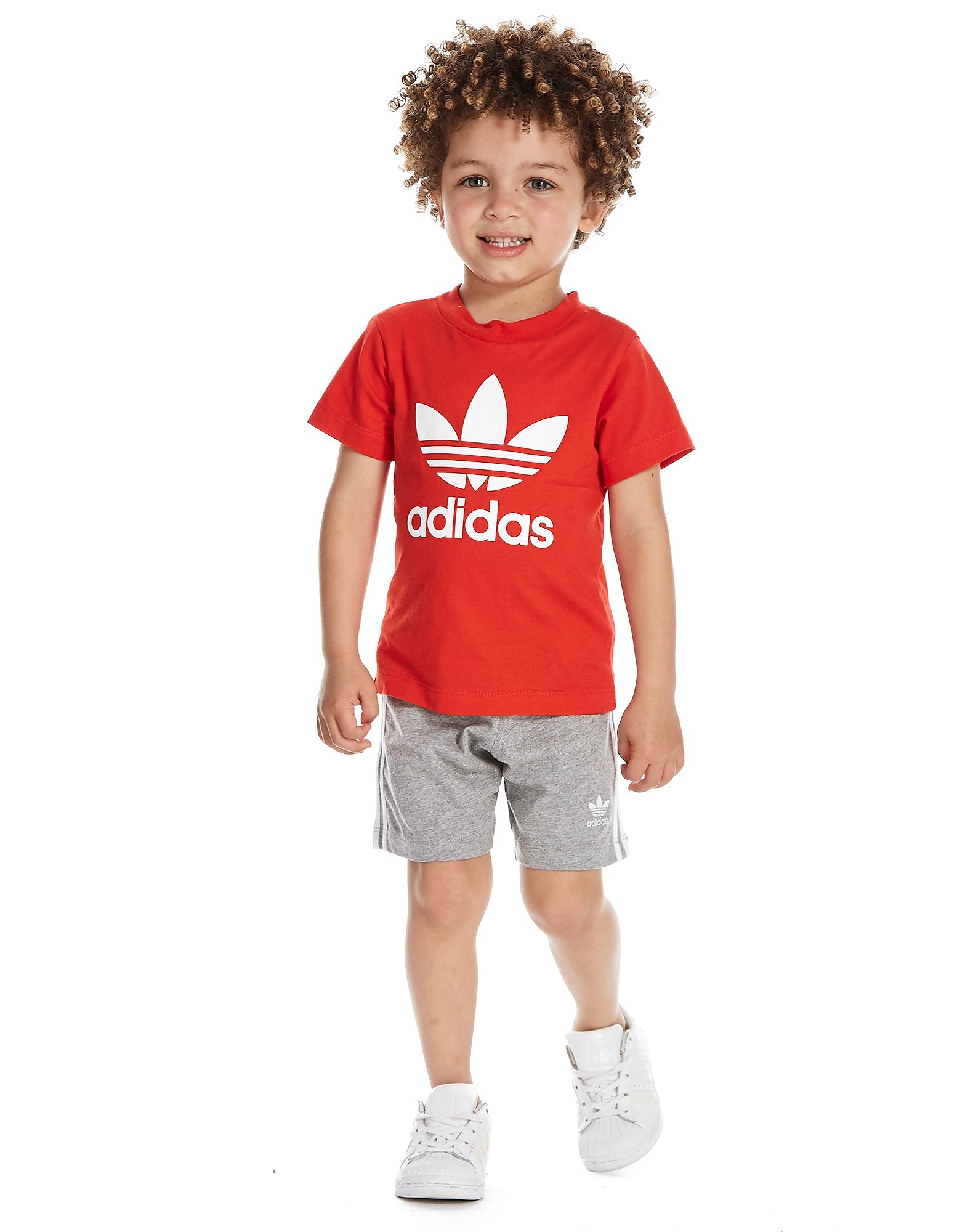 adidas Trefoil T-Shirt and Shorts Set Infants