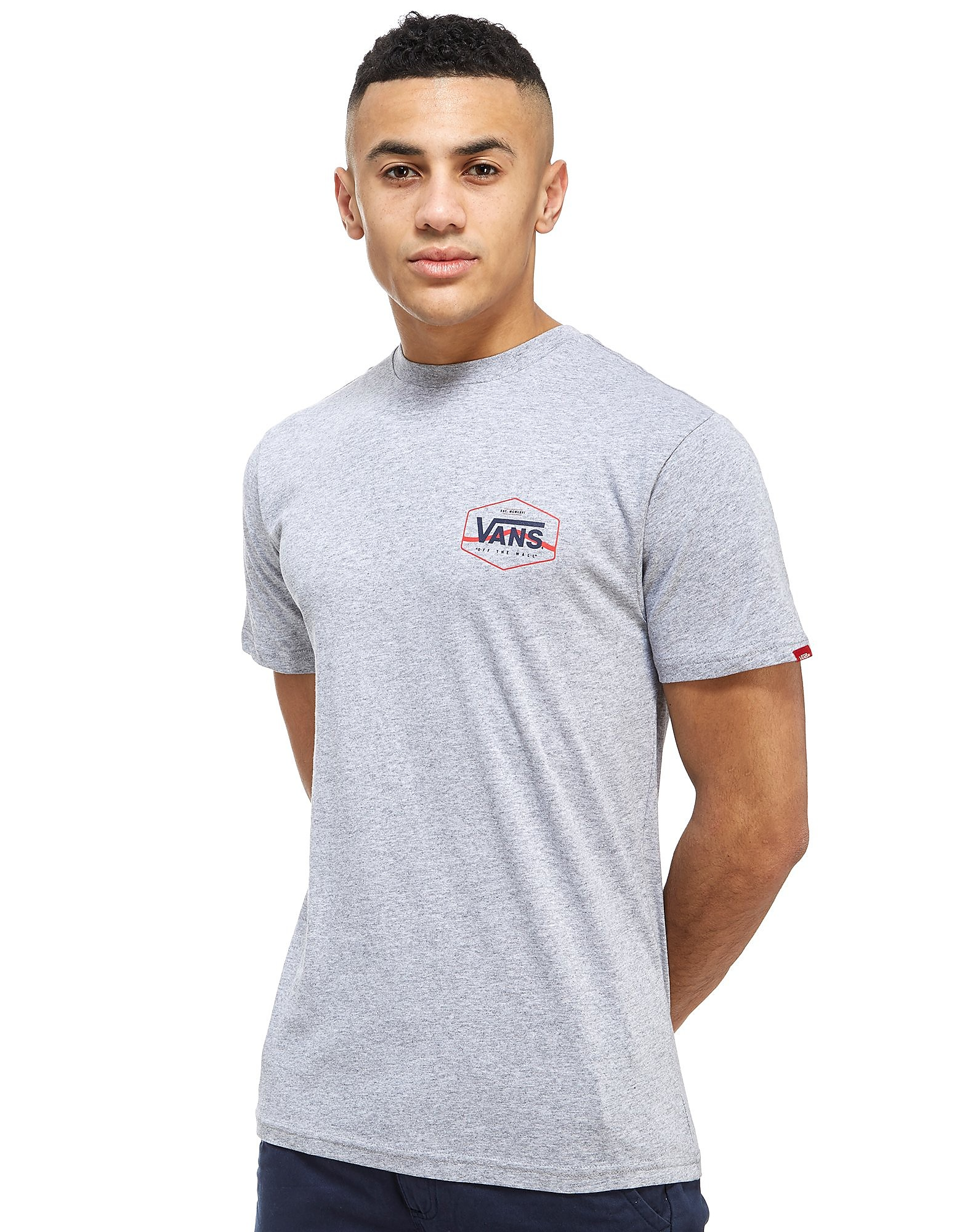 Vans Side Stripe Back Print T-Shirt