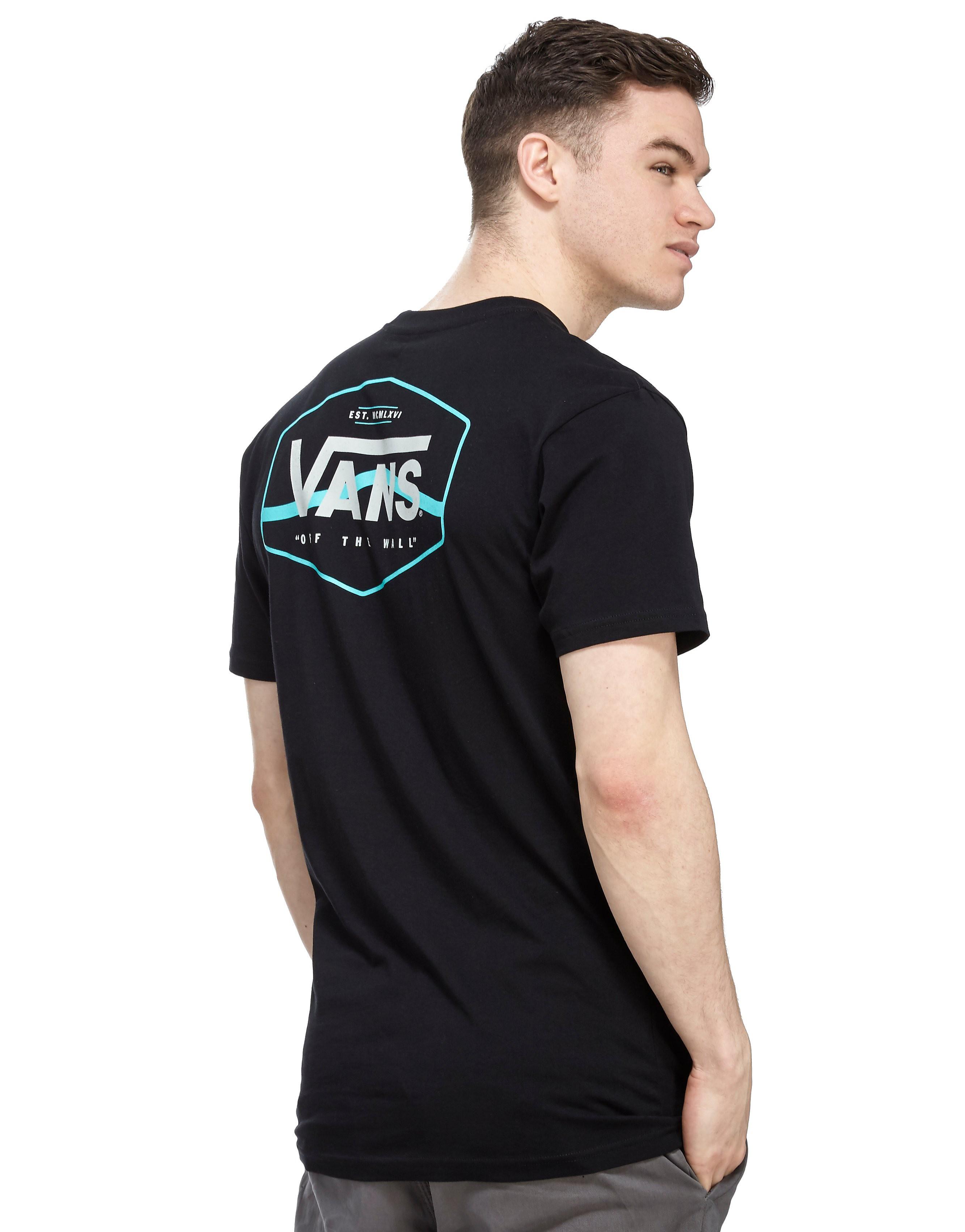 Vans Side Stripe Back Print T-Shirt