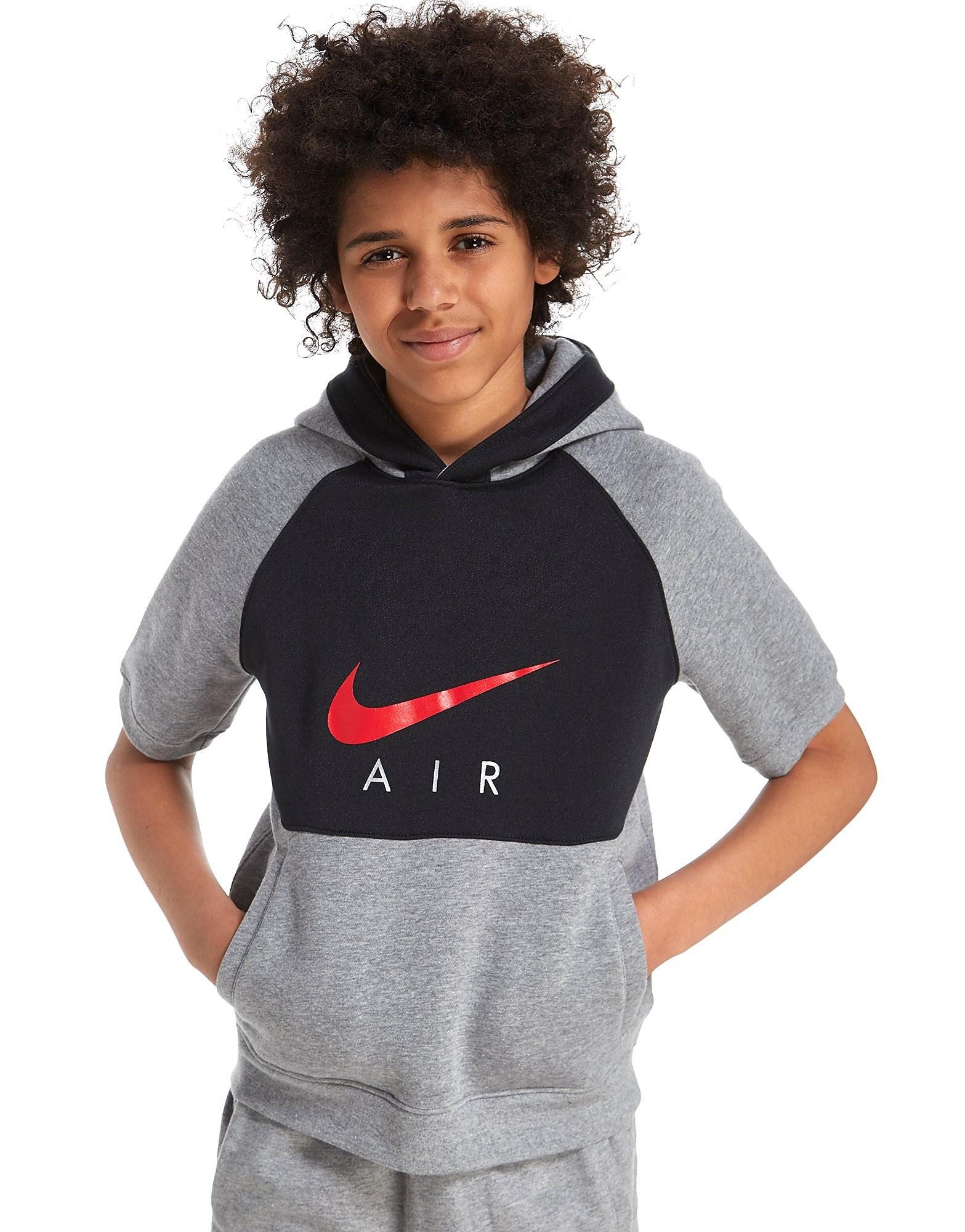 Nike Air Short Sleeve Hoodie Junior