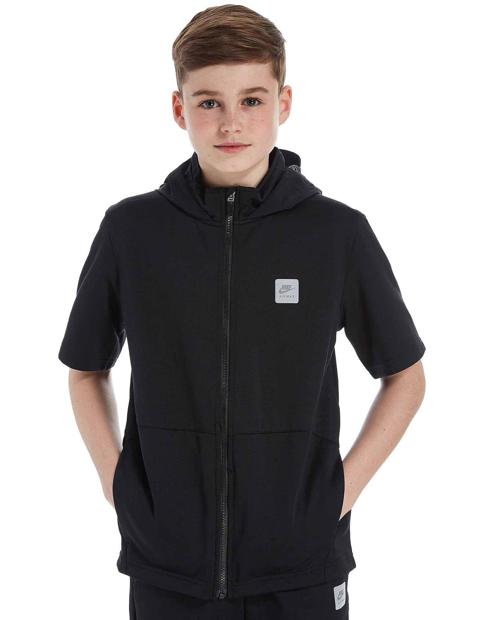 Nike Sportswear Short Sleeve Hoody Junior