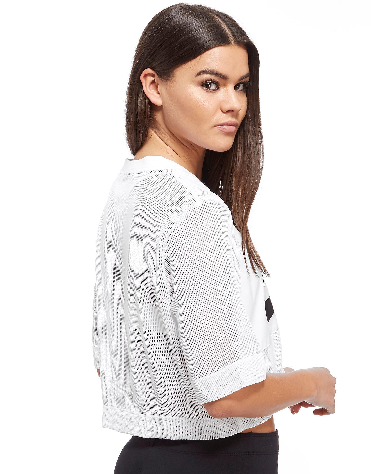 Nike Mesh Panel Crop T-Shirt