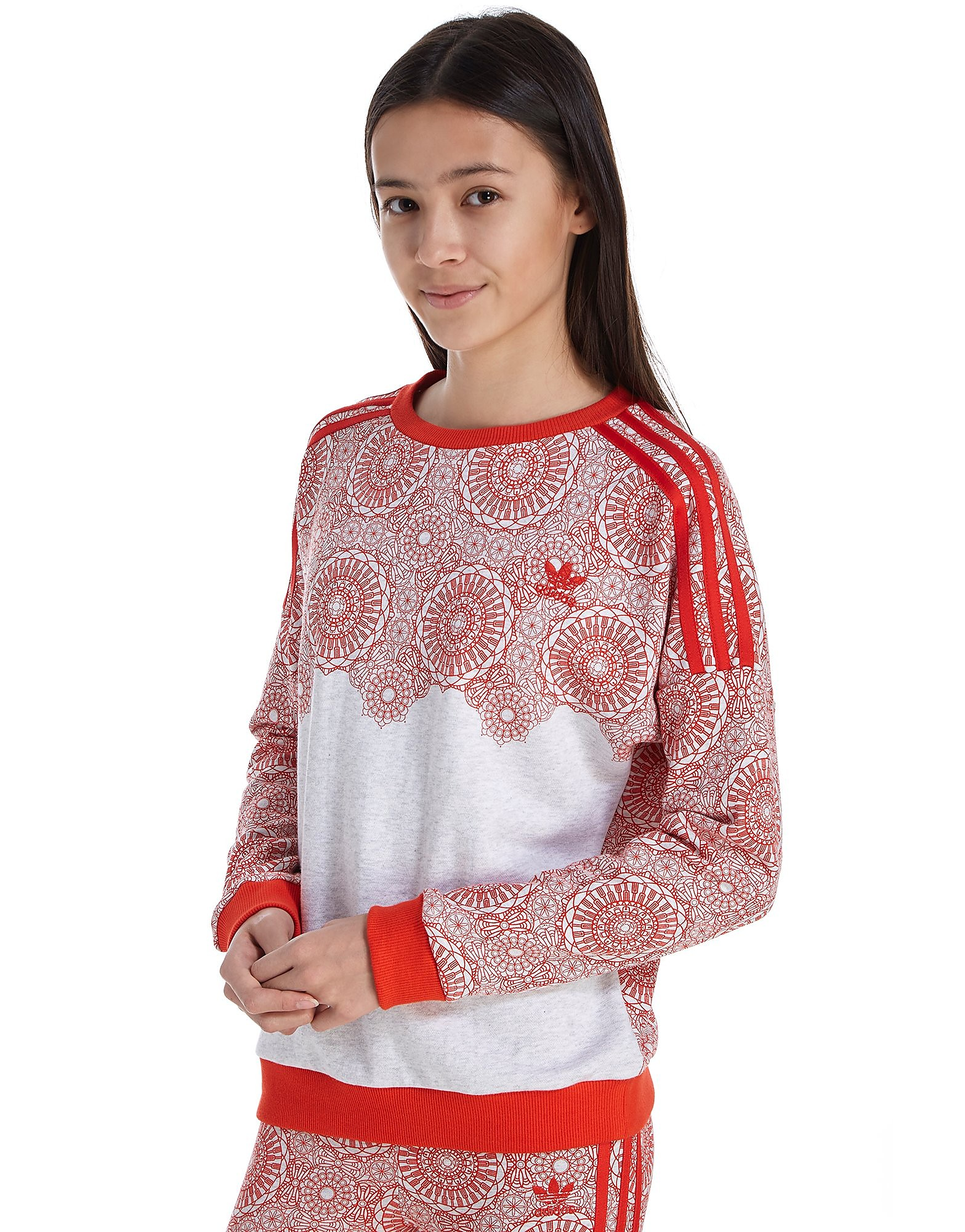 adidas Originals Girls' London Sweatshirt Junior