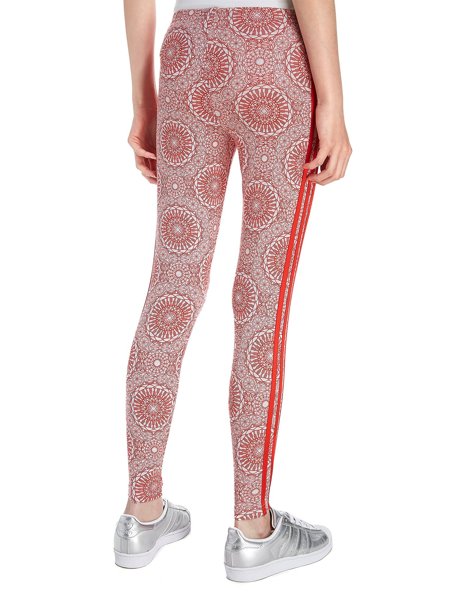 adidas Originals Girls' London All-Over Print Tights Junior
