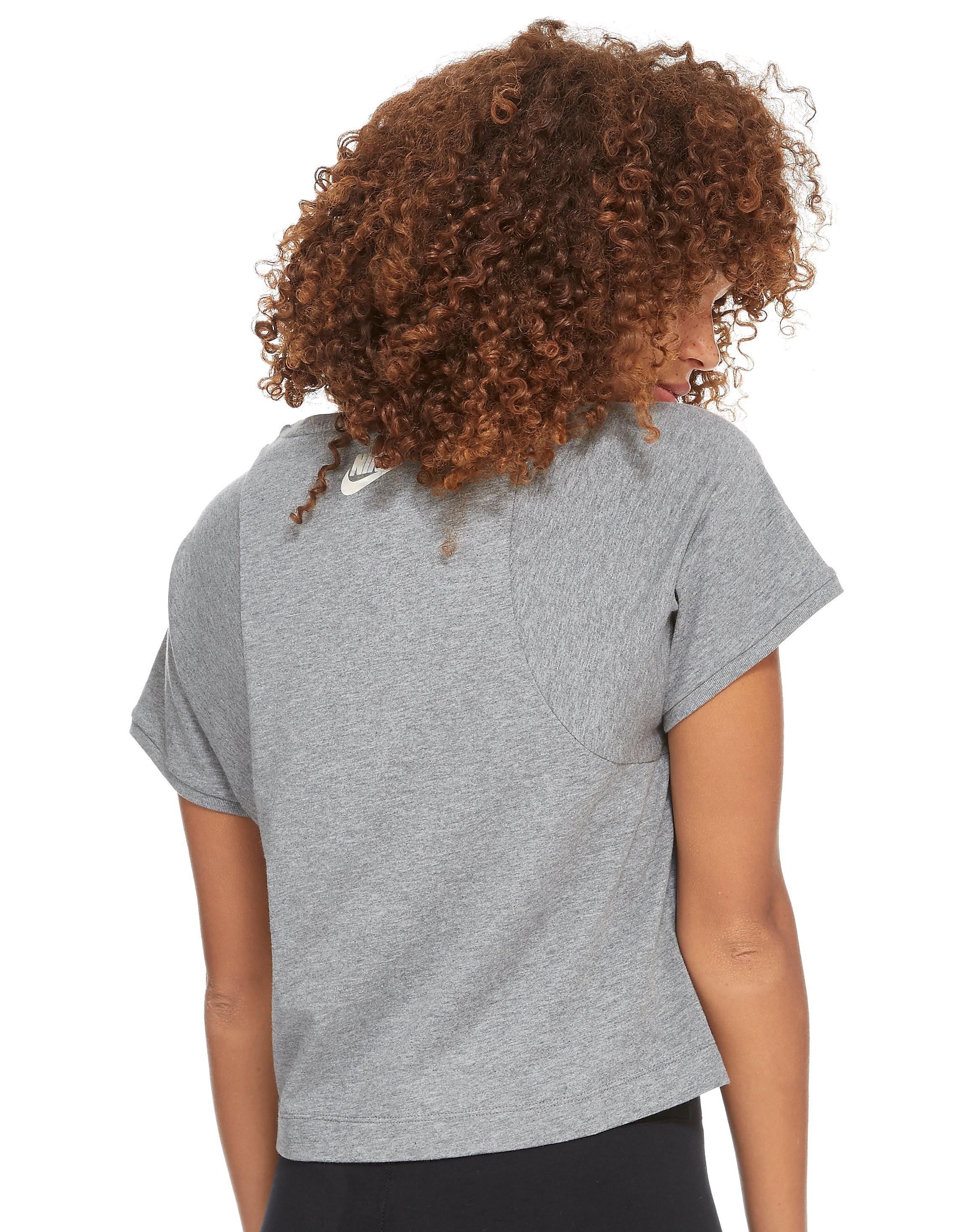 Nike Hologram Crop T-Shirt