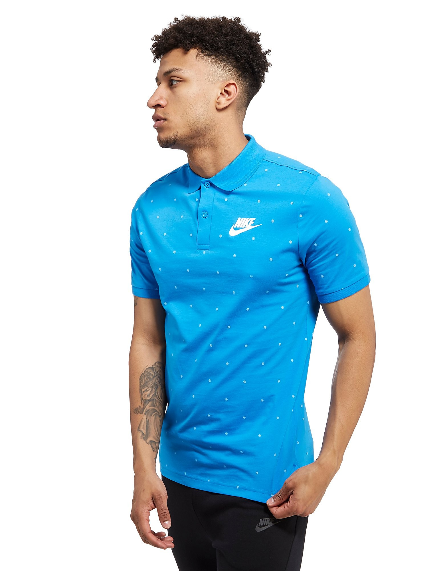 Nike Polka Dot Polo Shirt