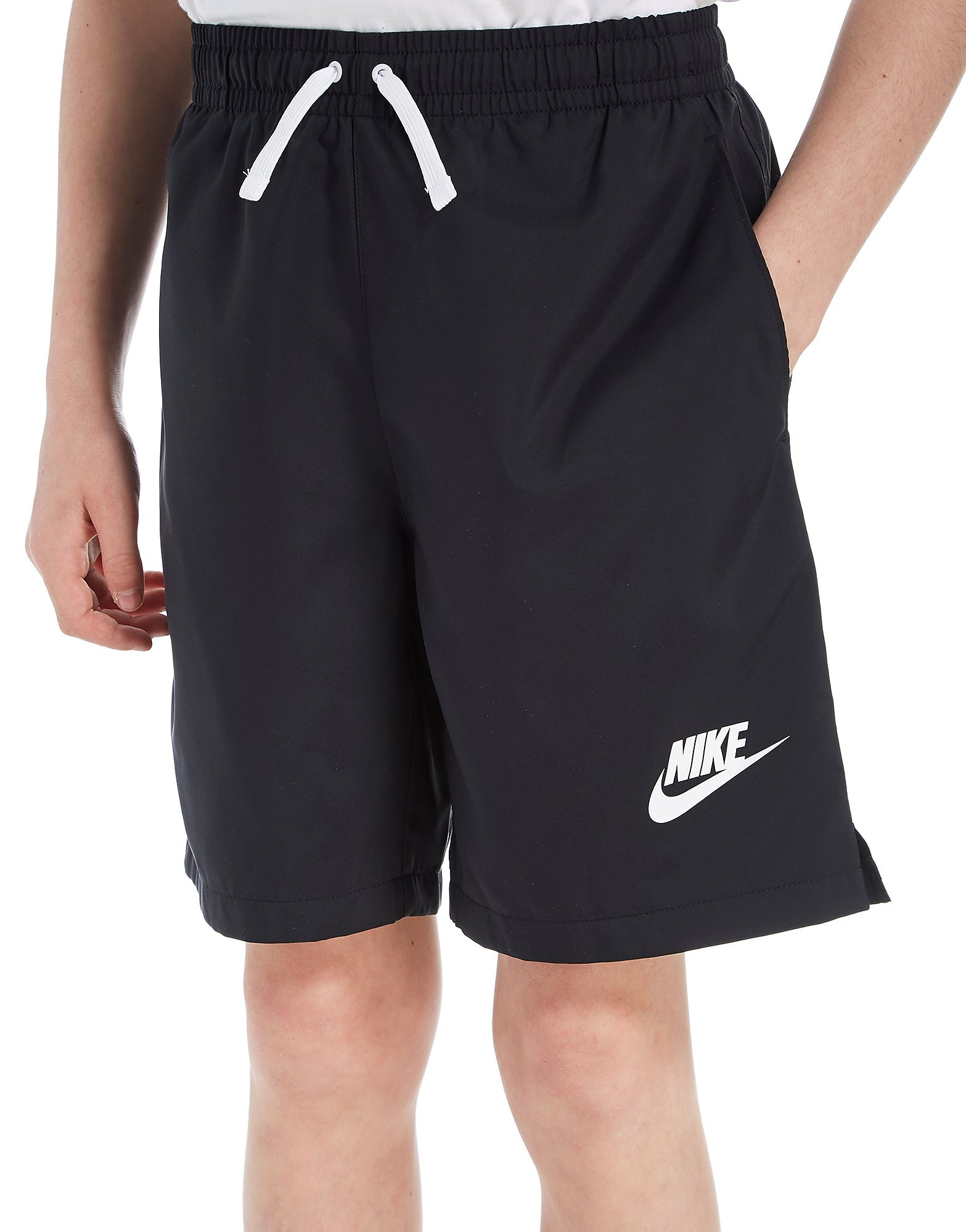 Nike Flow Swimming Shorts Junior - Zwart - Kind