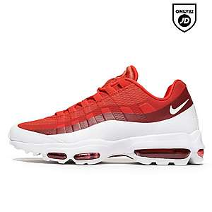 chaussures de sport 445bf 9a817 air max 95 rouge and blanc