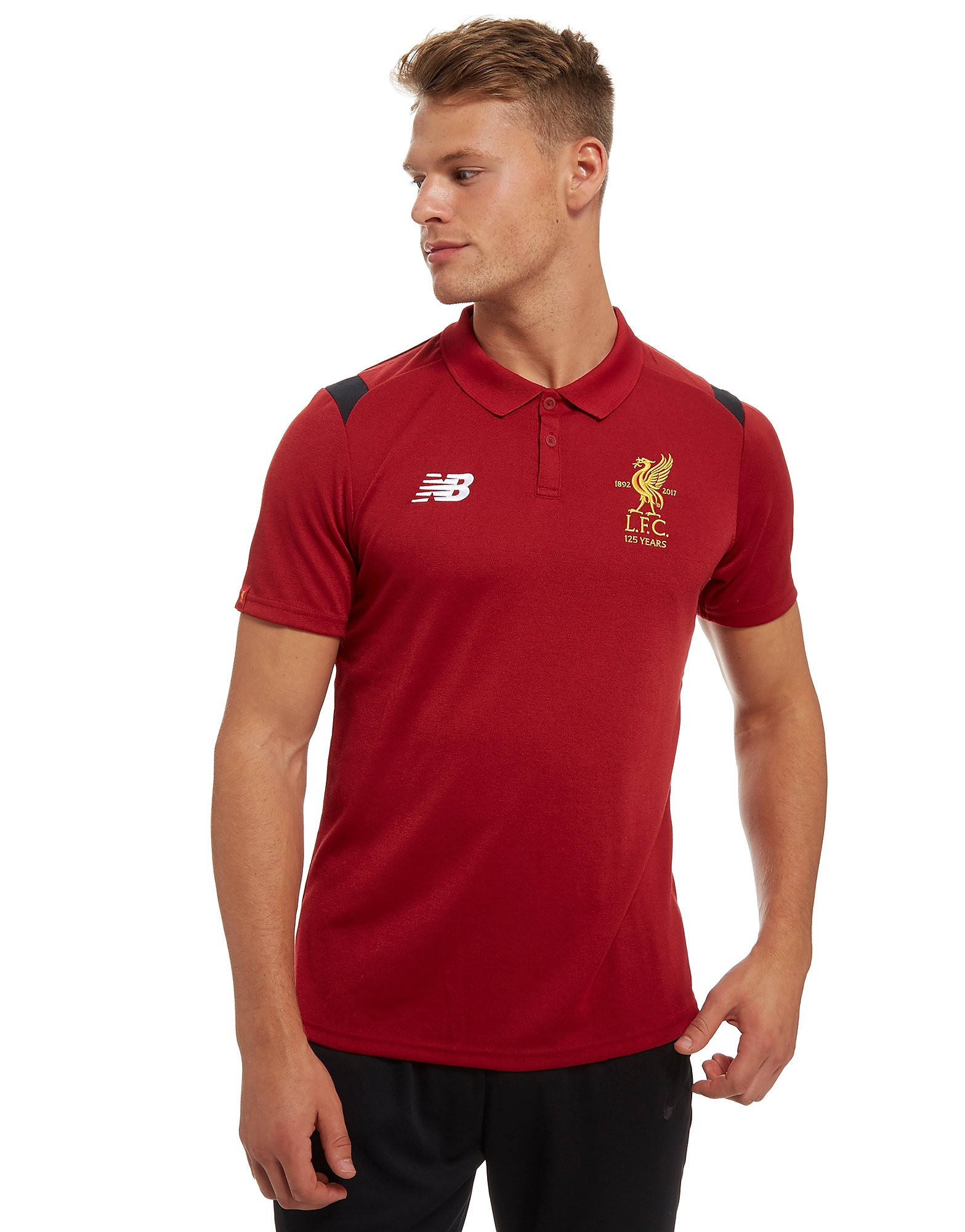 New Balance Liverpool FC Polo Heren