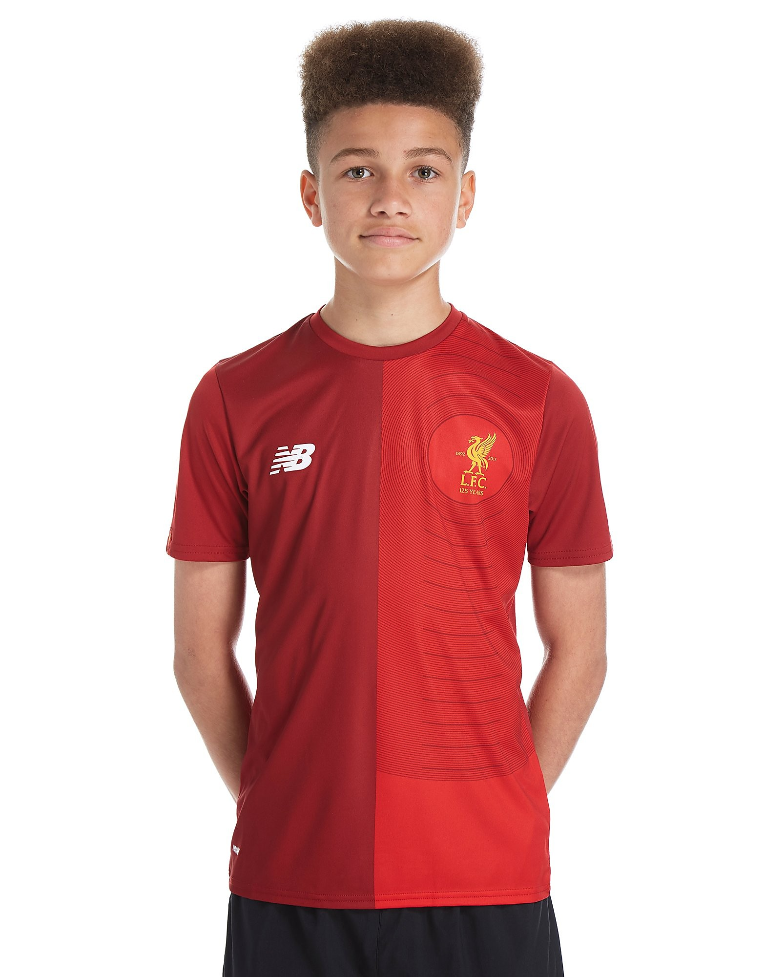 New Balance Liverpool FC 2017 Pre Match Top Junior - Red, Red