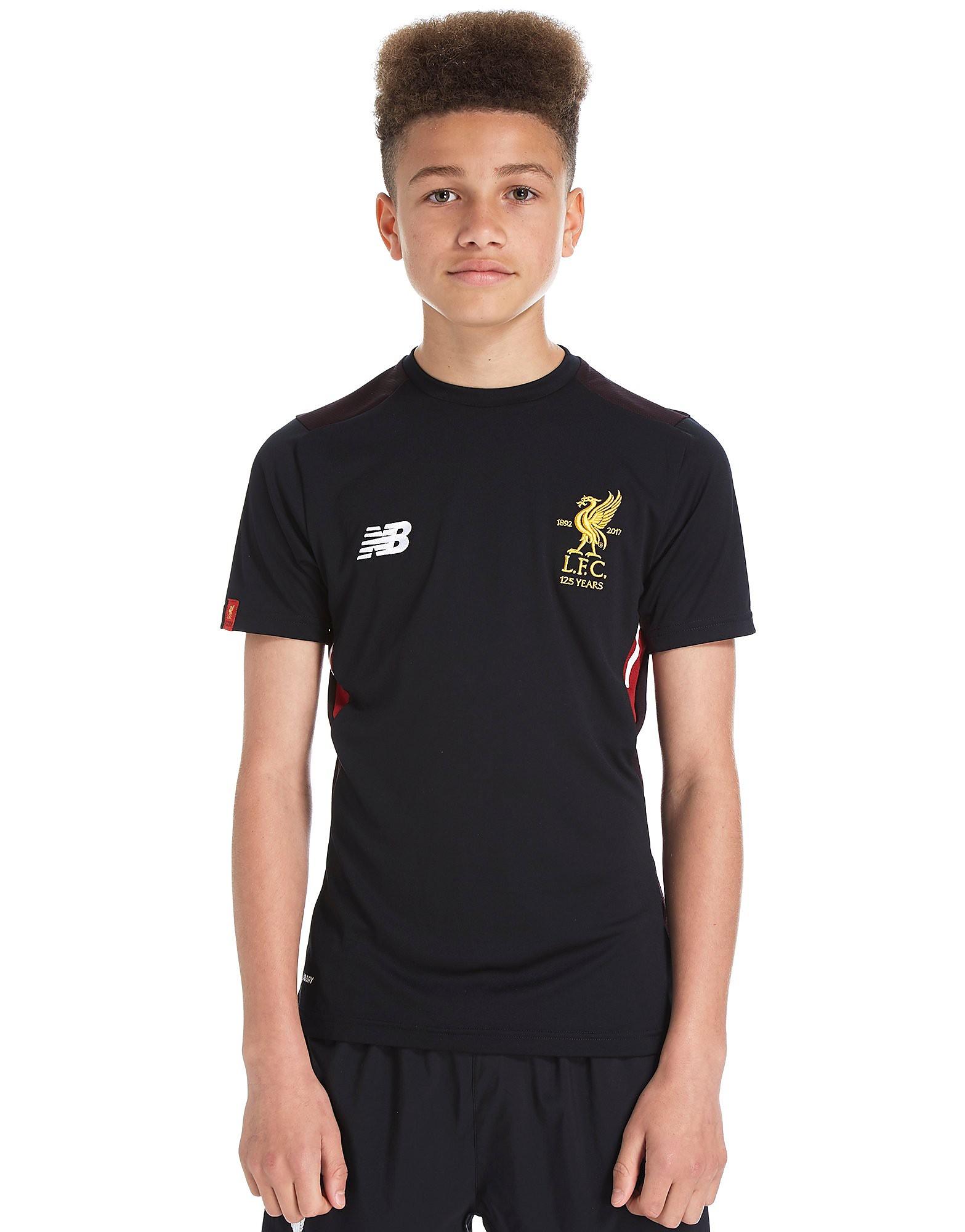 New Balance Liverpool FC 2017 Training Shirt Junior