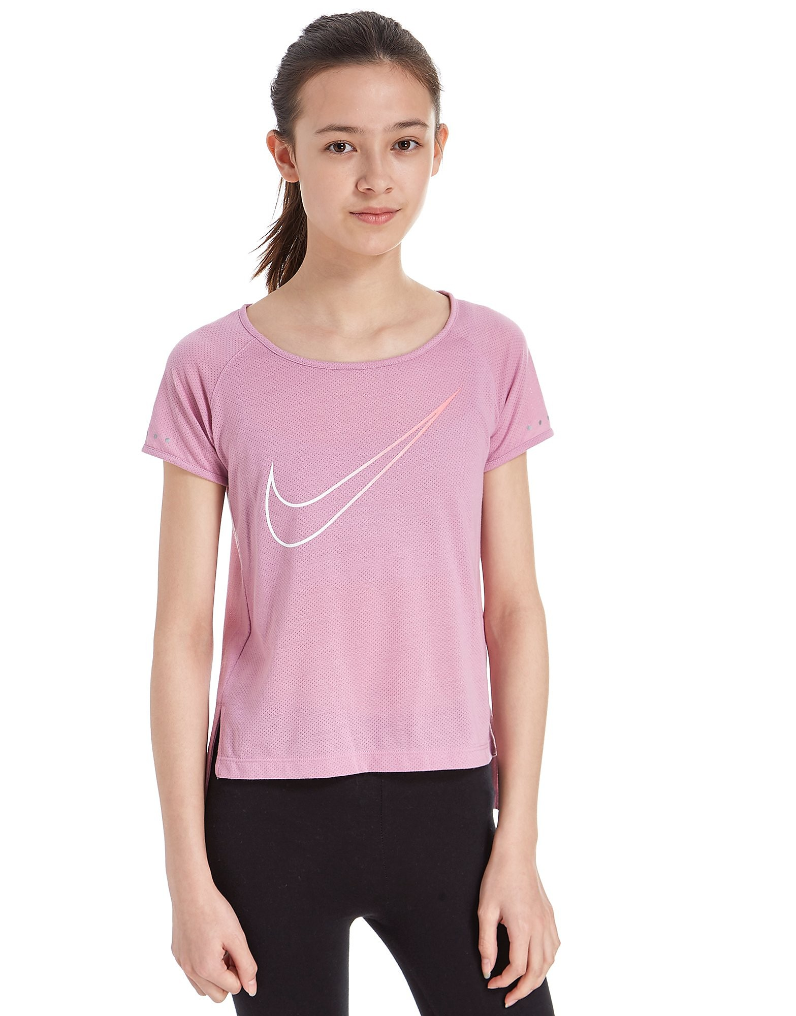 Nike Girls' City Breathe T-Shirt Junior