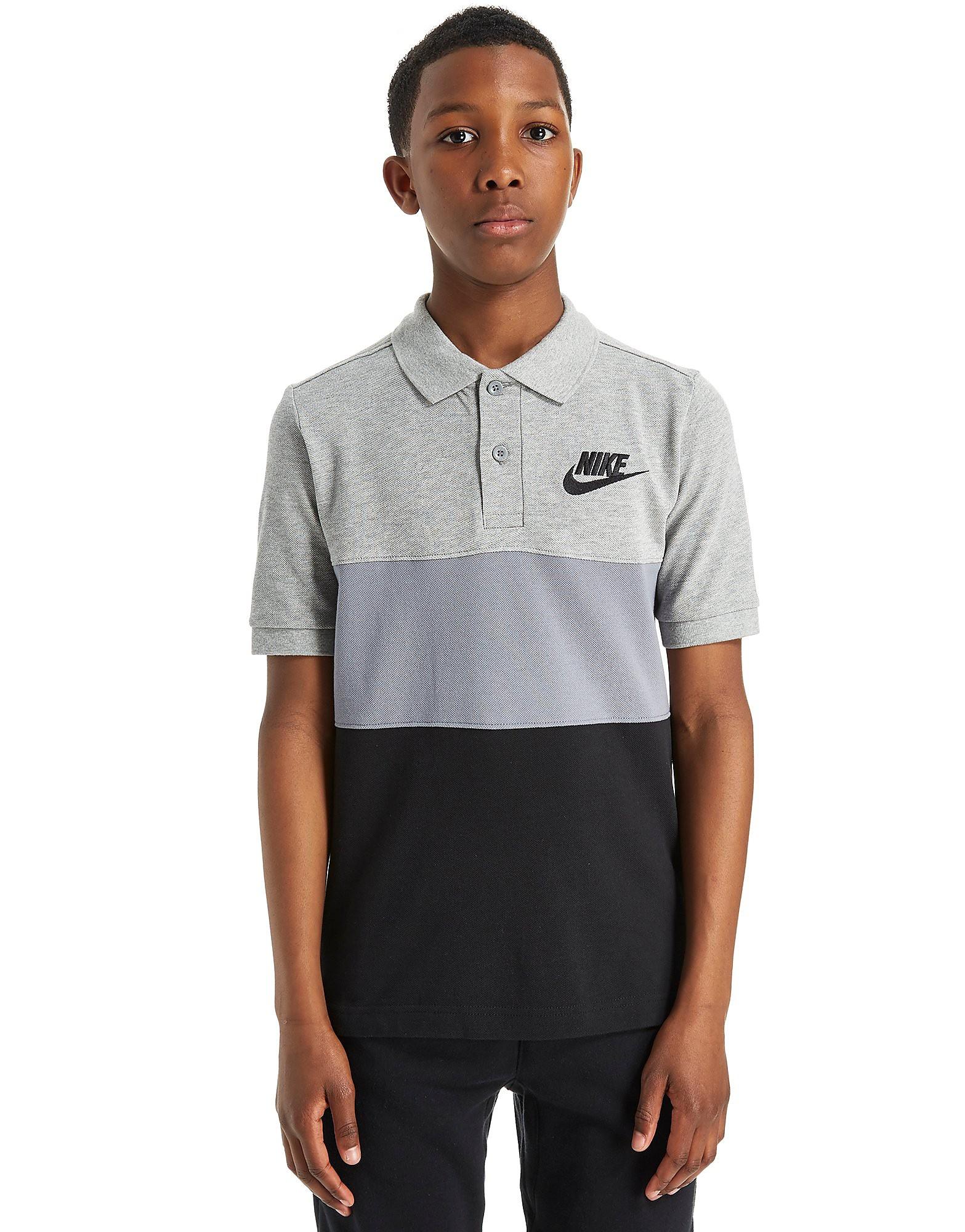 Nike Polo con franjas de color júnior