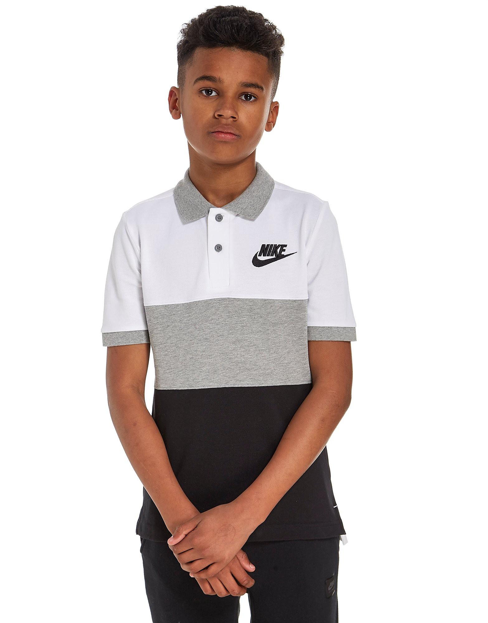 Nike Colour Block Polo Shirt Junior