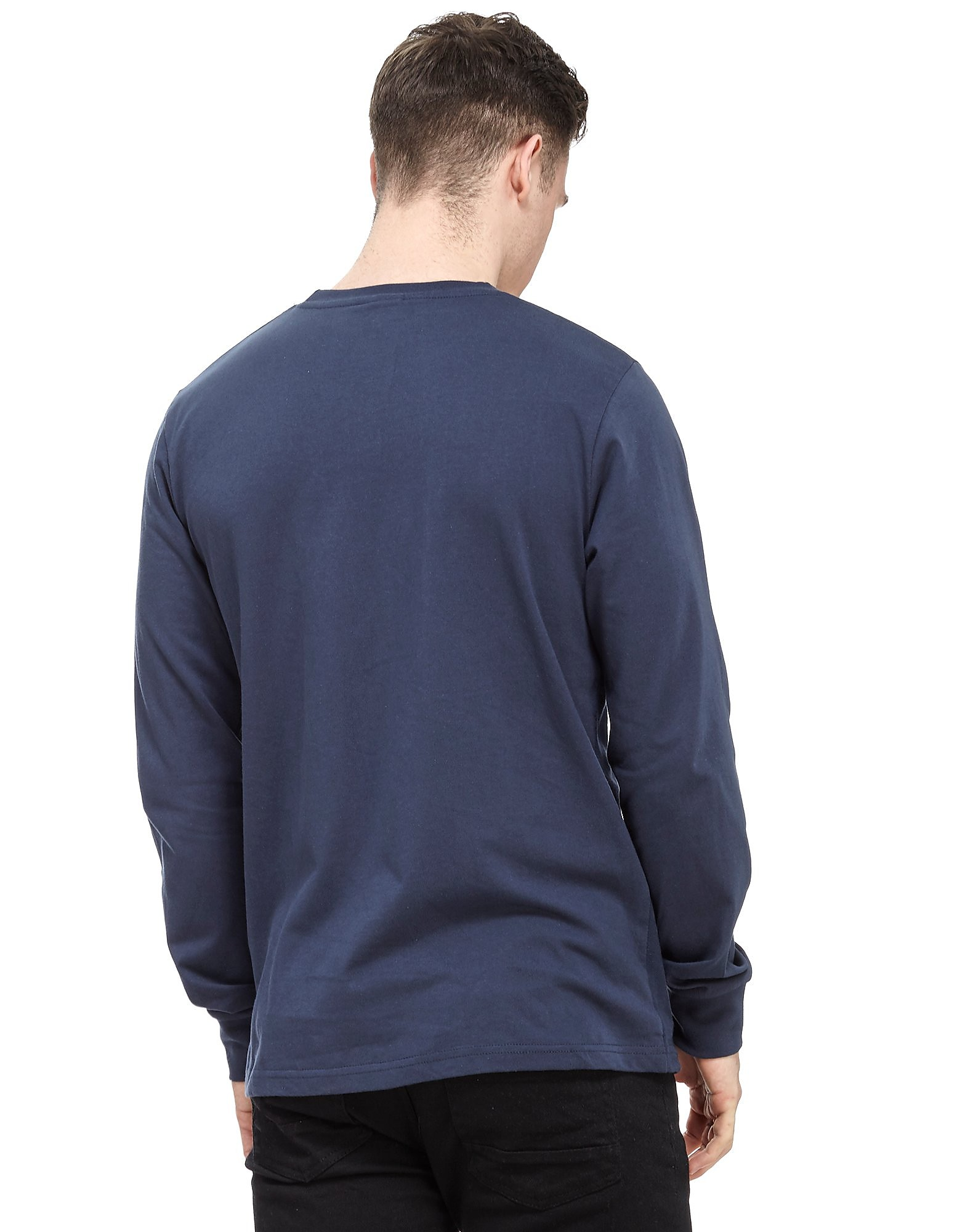Ellesse Cannavaro Panel Long Sleeve T-Shirt