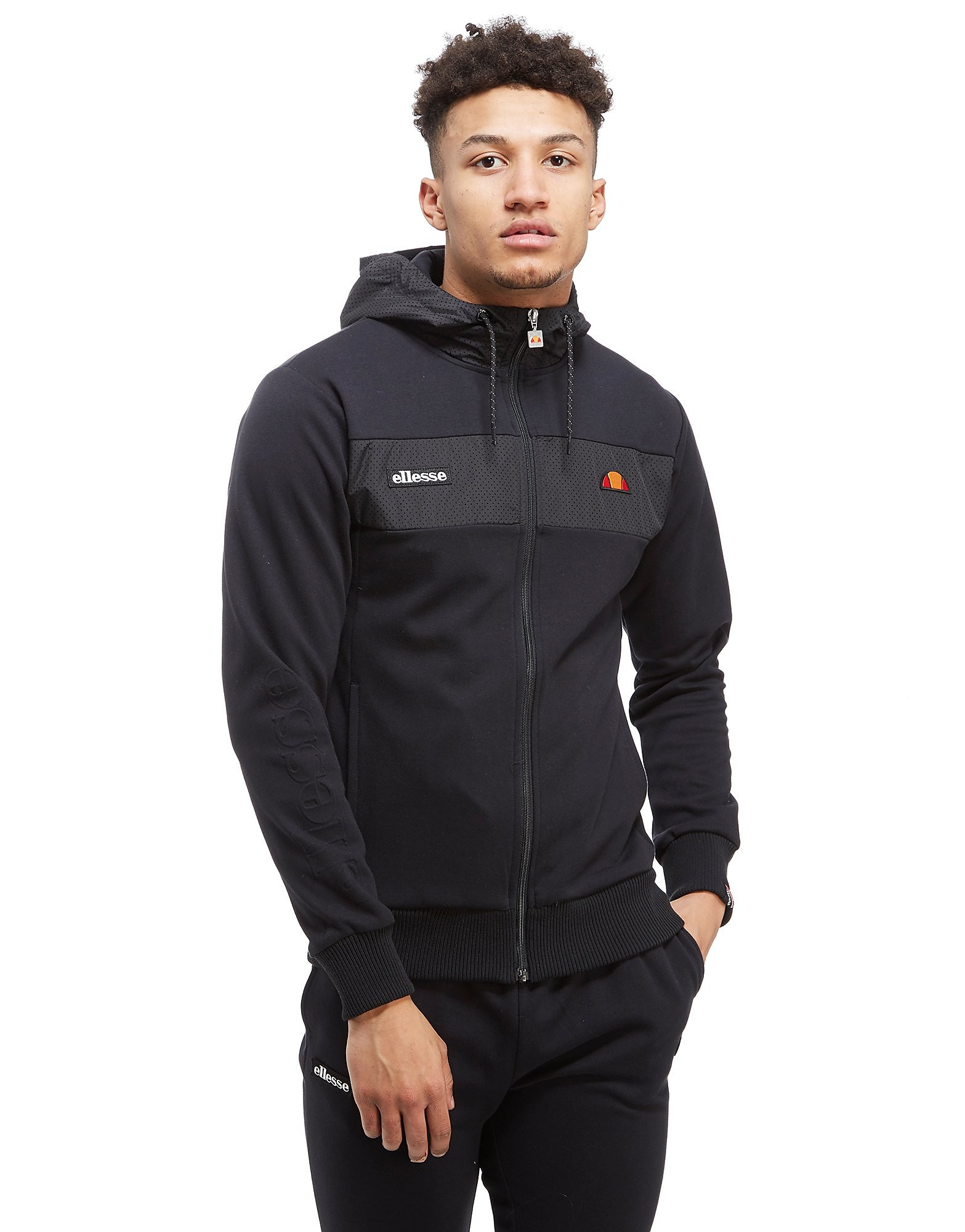 Ellesse Sweat à capuche Selona Perforated Homme
