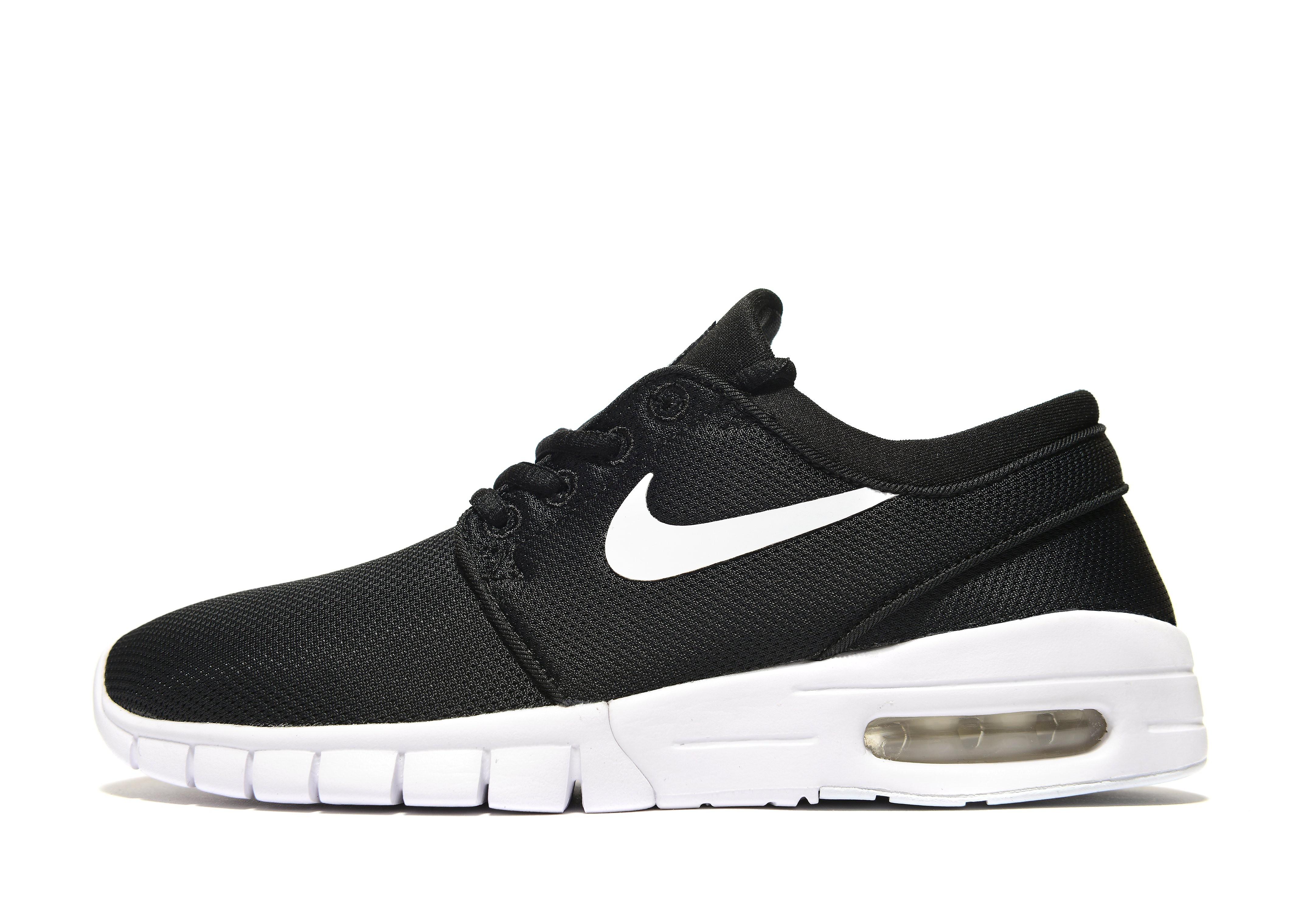Nike Janoski Max Junior - Black/White, Black/White