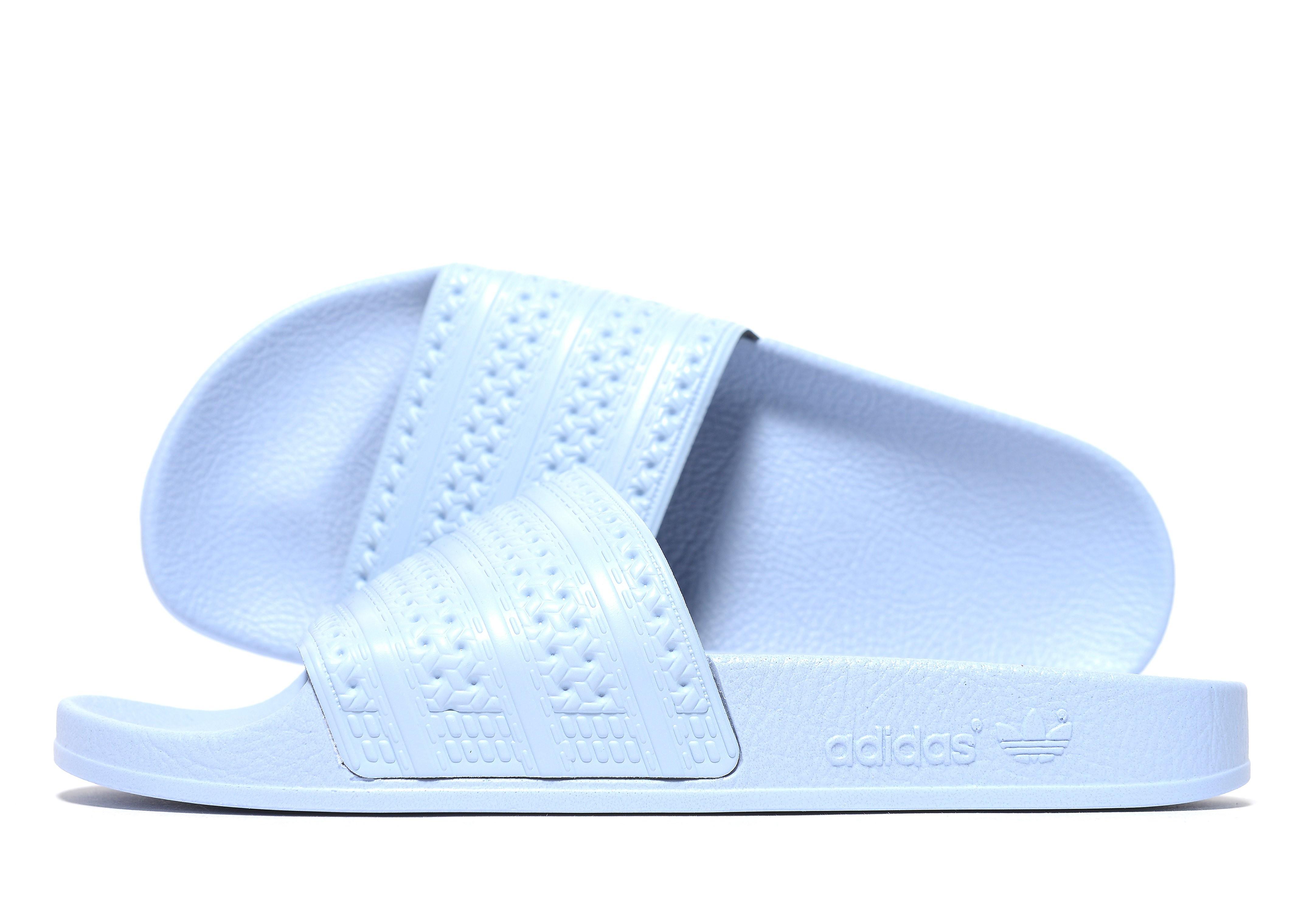 Adidas Adilette damessneaker blauw