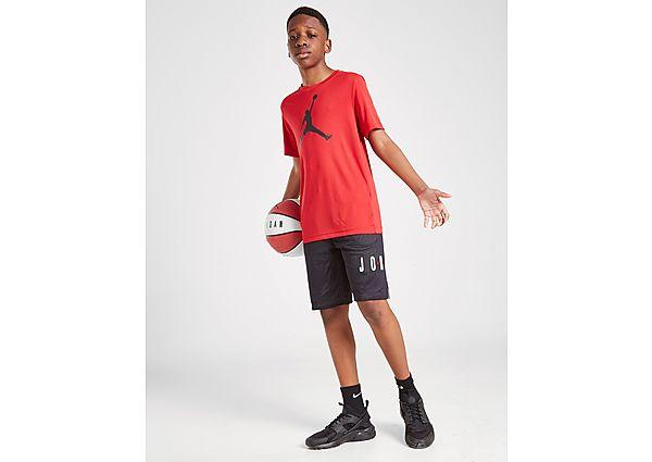 Comprar Ropa deportiva para niños online Jordan camiseta Jumpman Air júnior, Black/Red