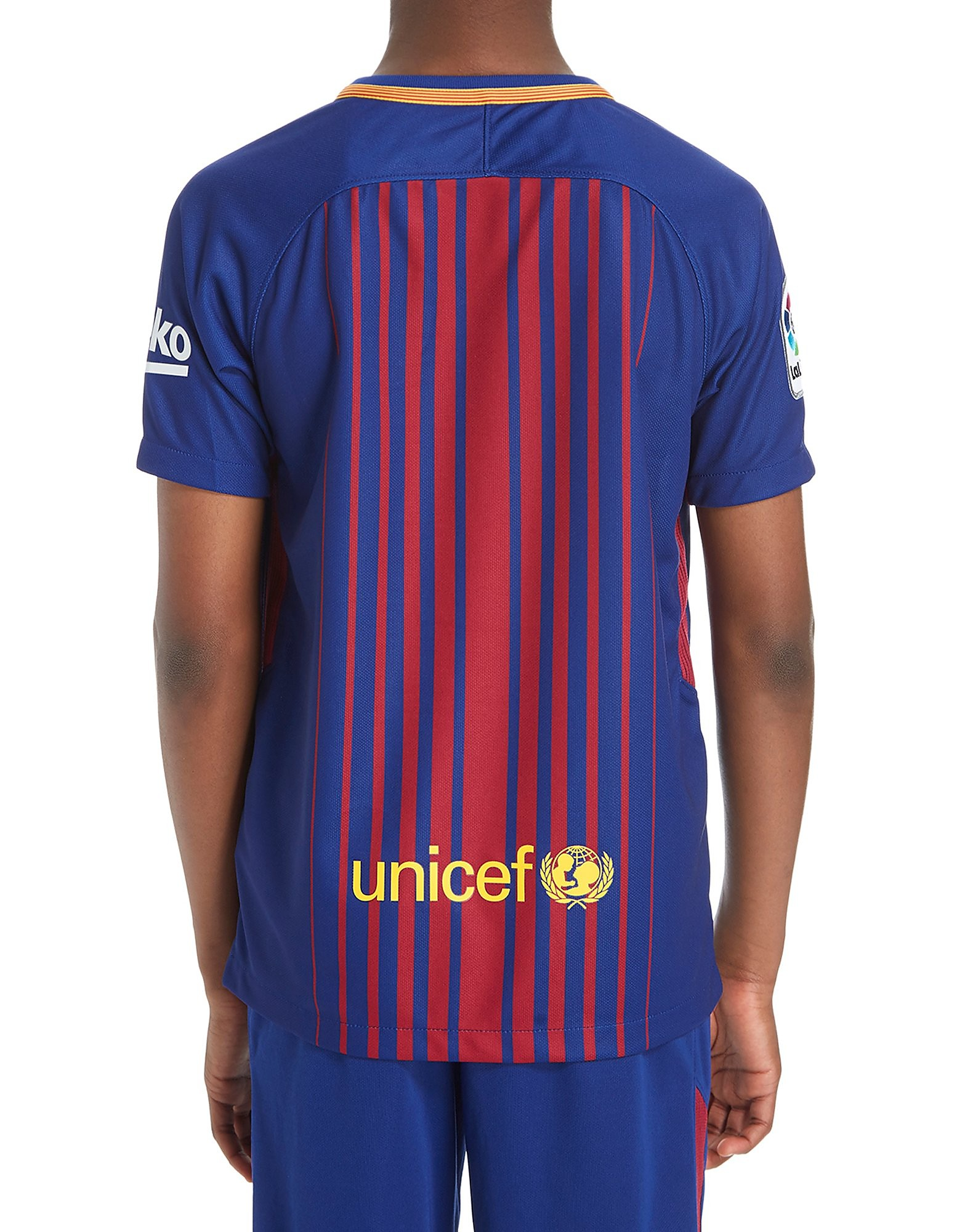 Nike Barcelona 2017/18 Home Shirt Junior