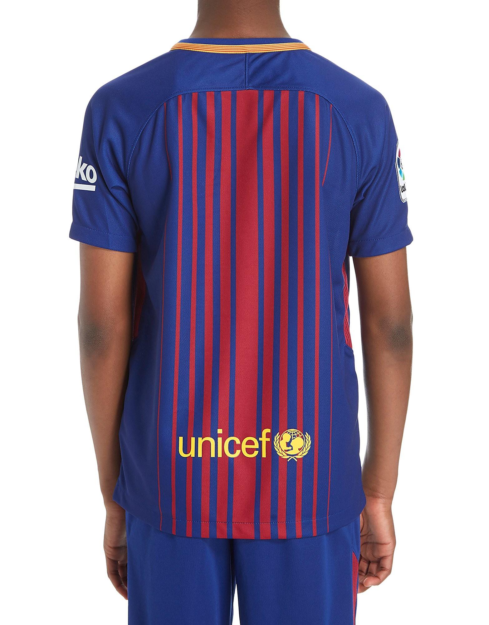 Nike Barcelona 2017/18 Home Shirt Junior