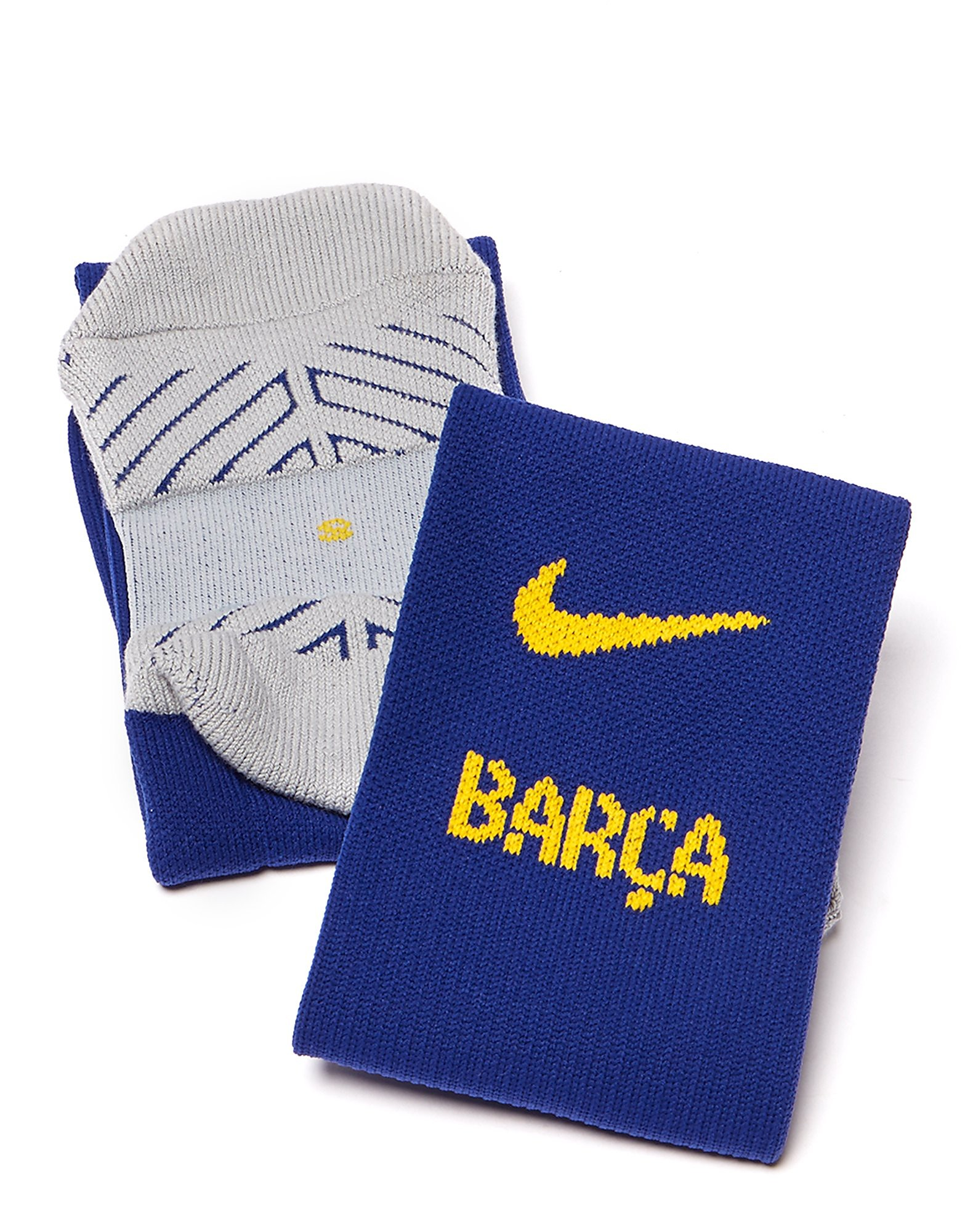 Nike Barcelona 2017/18 Home Socks Junior