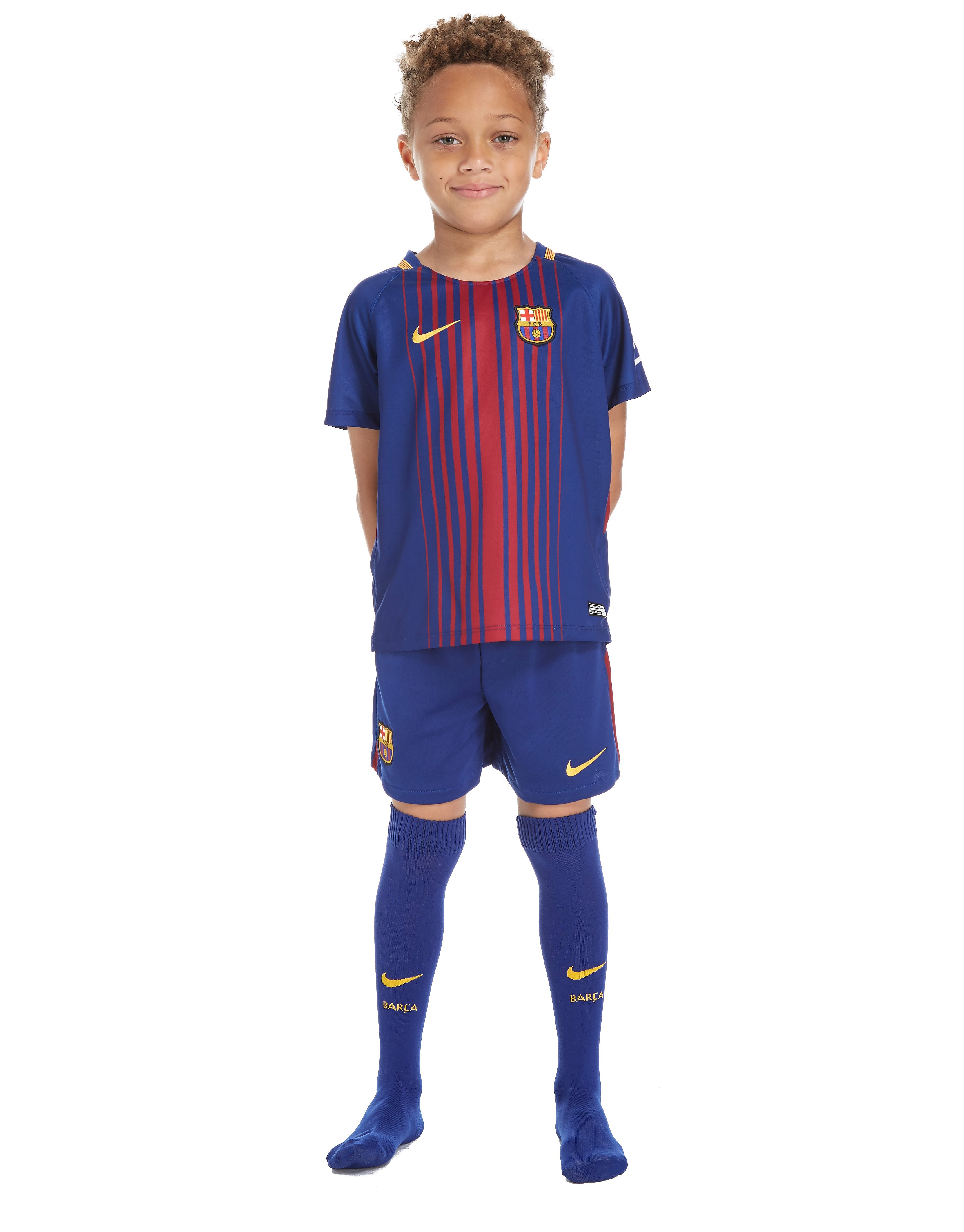 Nike FC Barcelona 2017/18 Home Kit Children