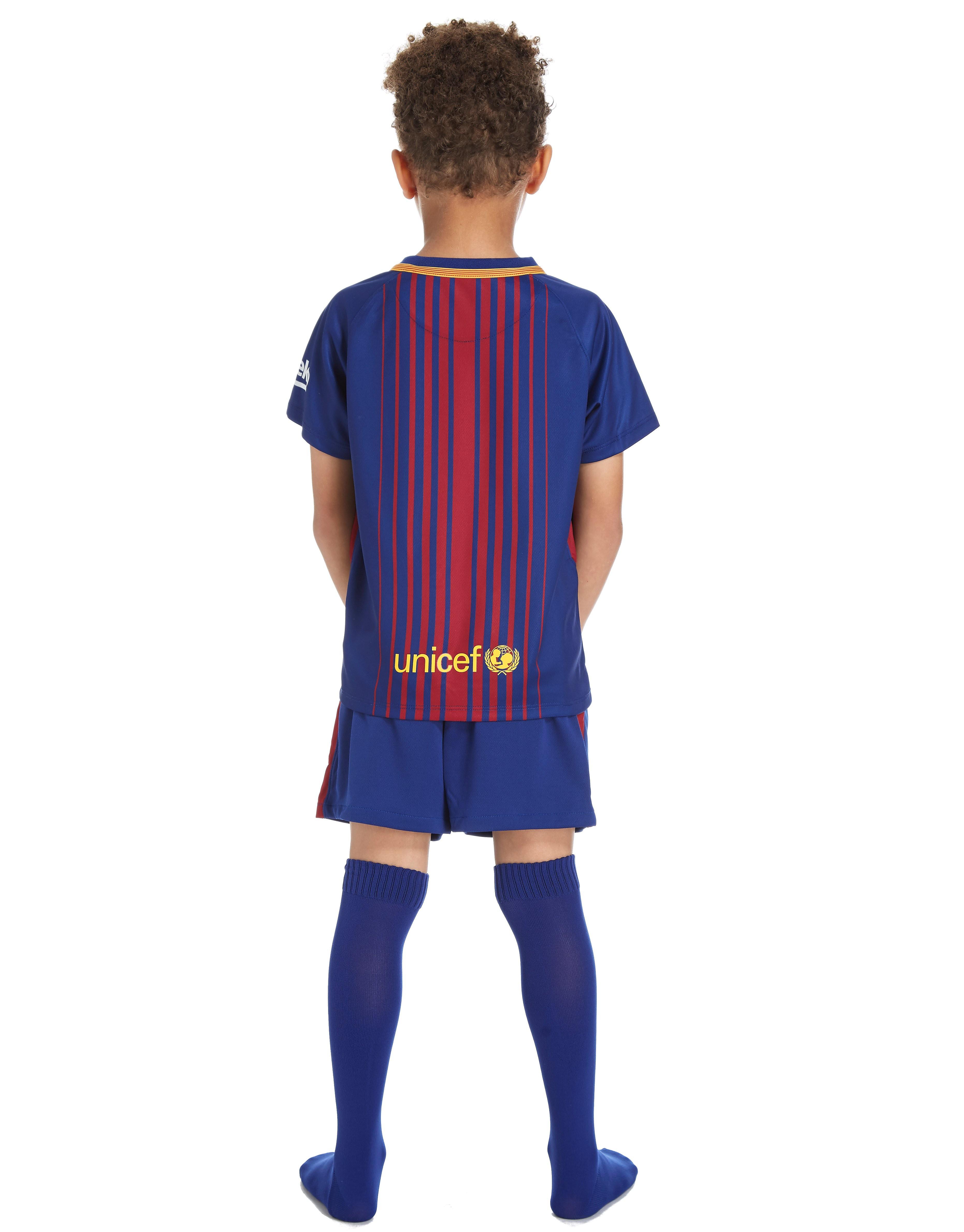 Nike Barcelona 2017/18 Home Kit Children