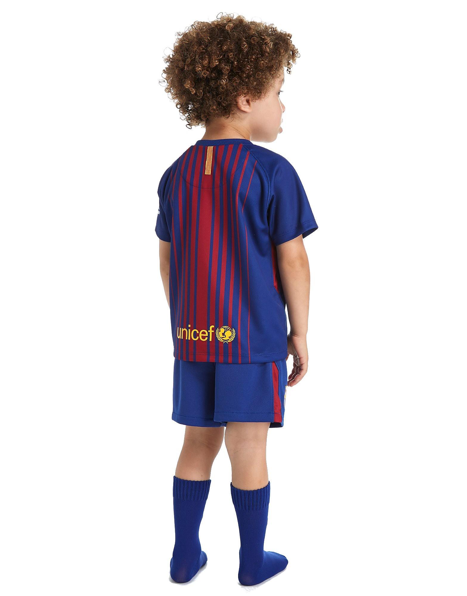Nike conjunto Barcelona 2017/18 1ª equipación para bebé