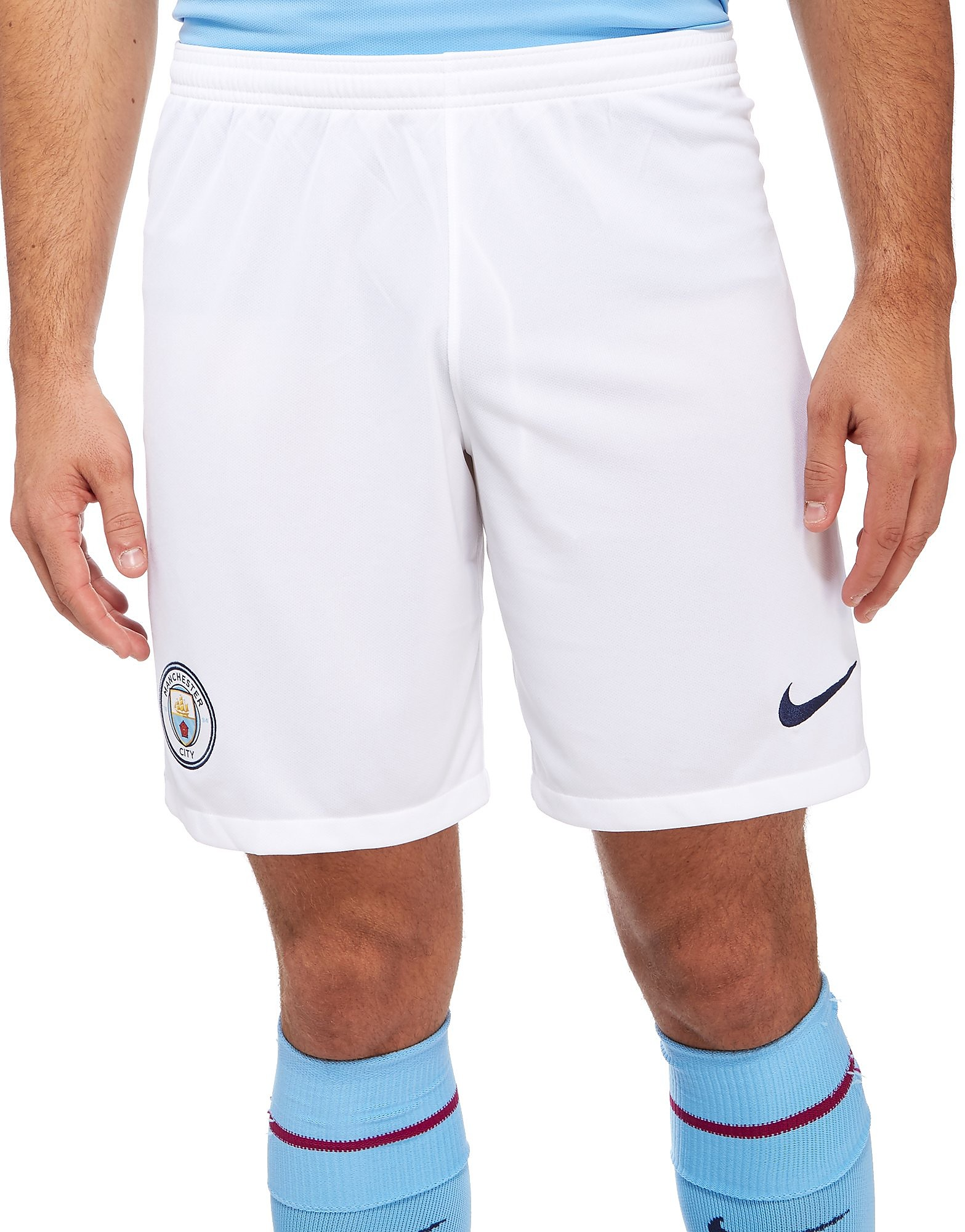 Nike Manchester City FC 2017/18 Home Shorts