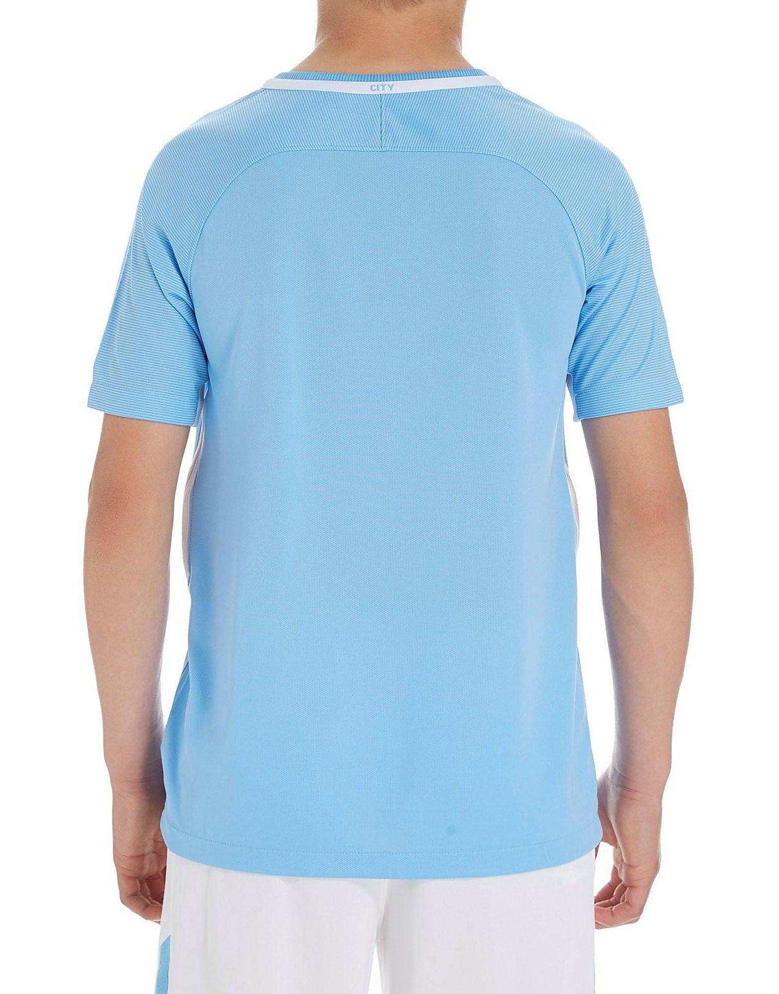 Nike Manchester City 2017/18 Home Shirt Jnr PRE ORDER